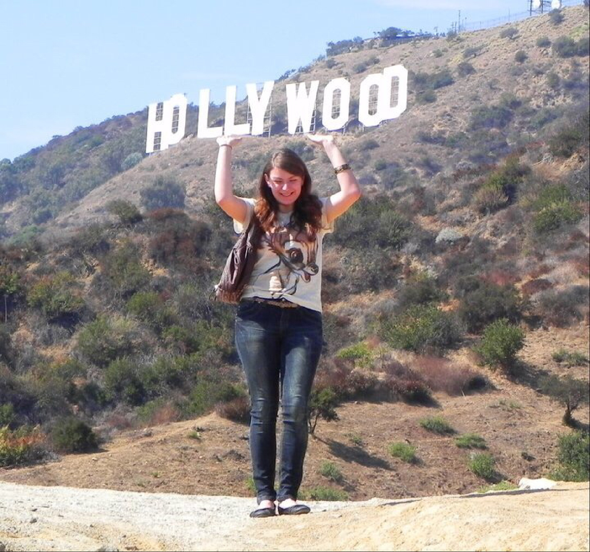 Hollywood baby by Peter Stowell