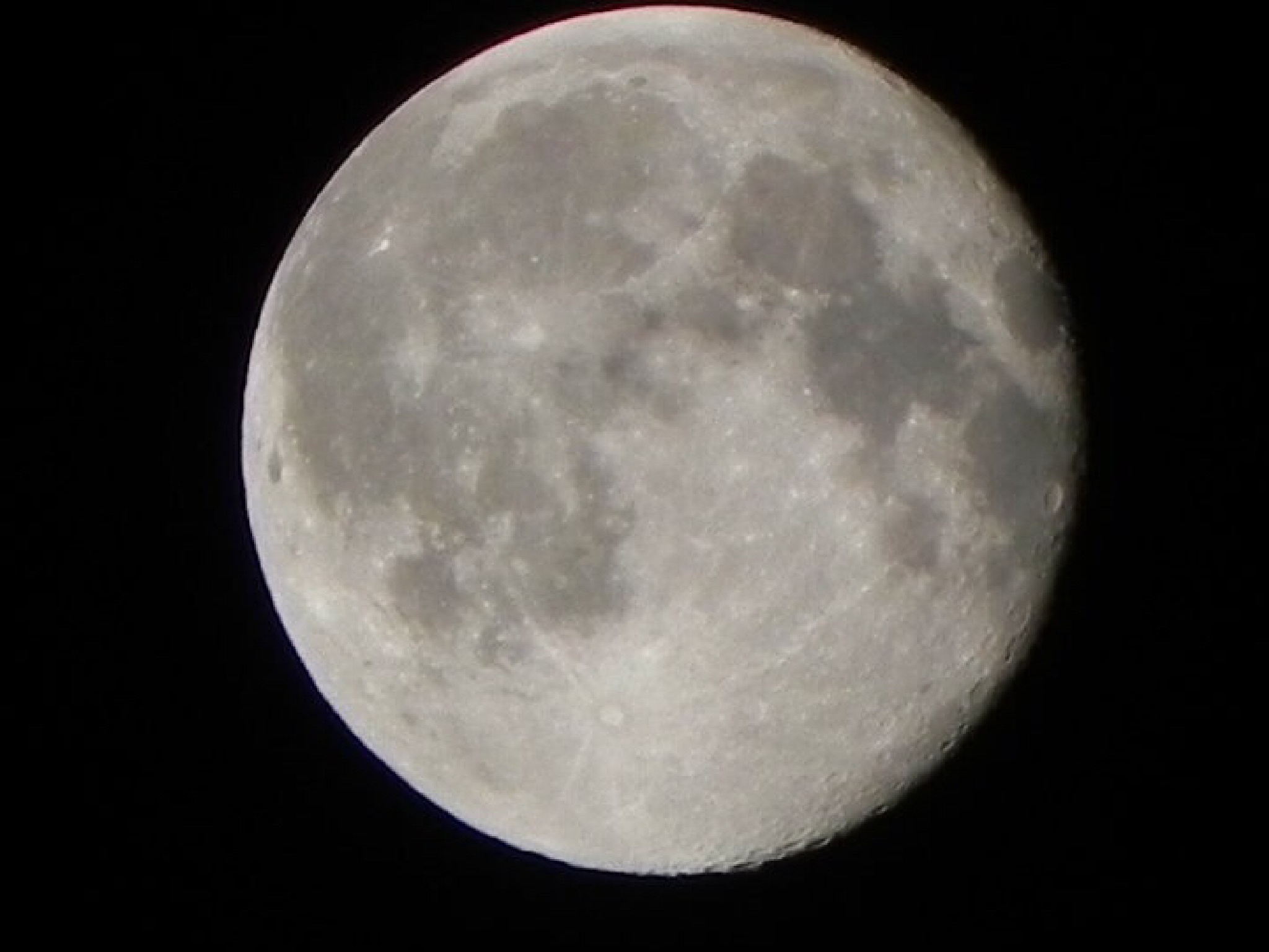 Full moon by Peter Stowell