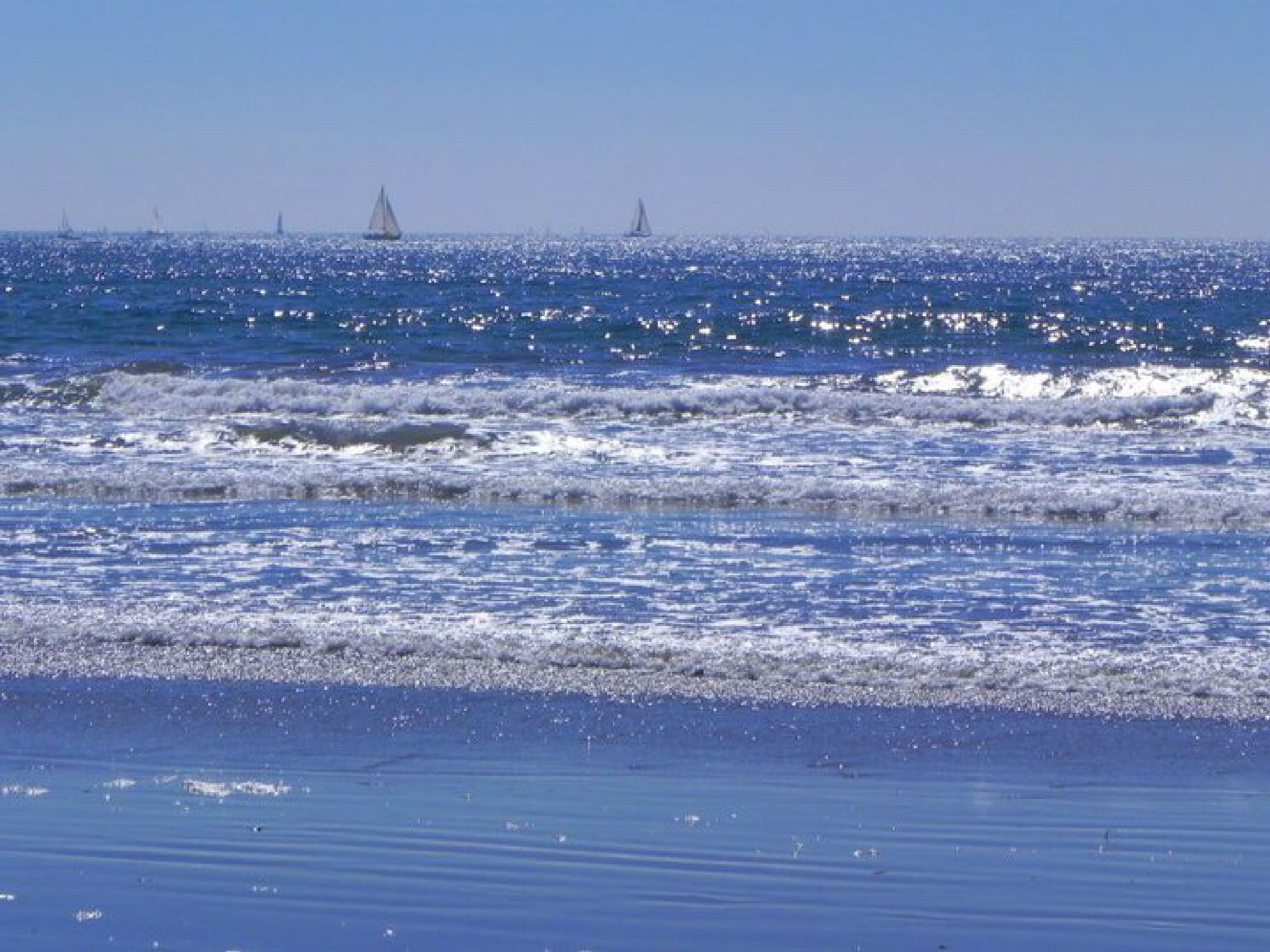 Pacific Ocean  by Peter Stowell