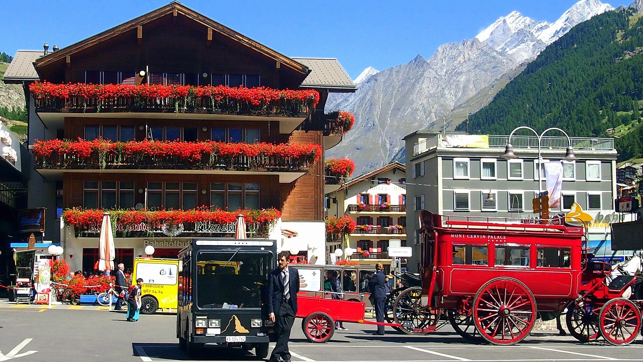 In Zermatt by Rudy Tarrazona Guacena