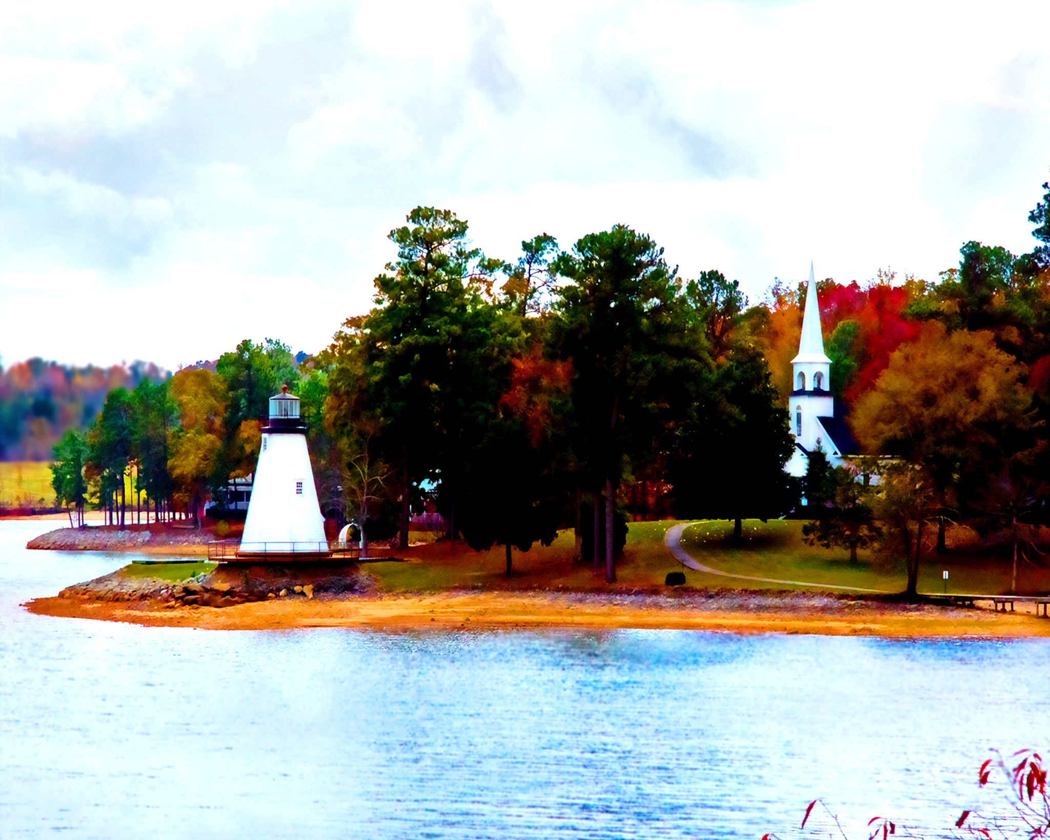 Fall at Children's Harbor by mfontaine