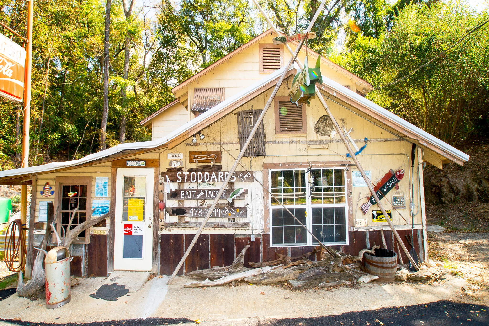 Stoddards Bait & Tackle est. 1943 by mfontaine
