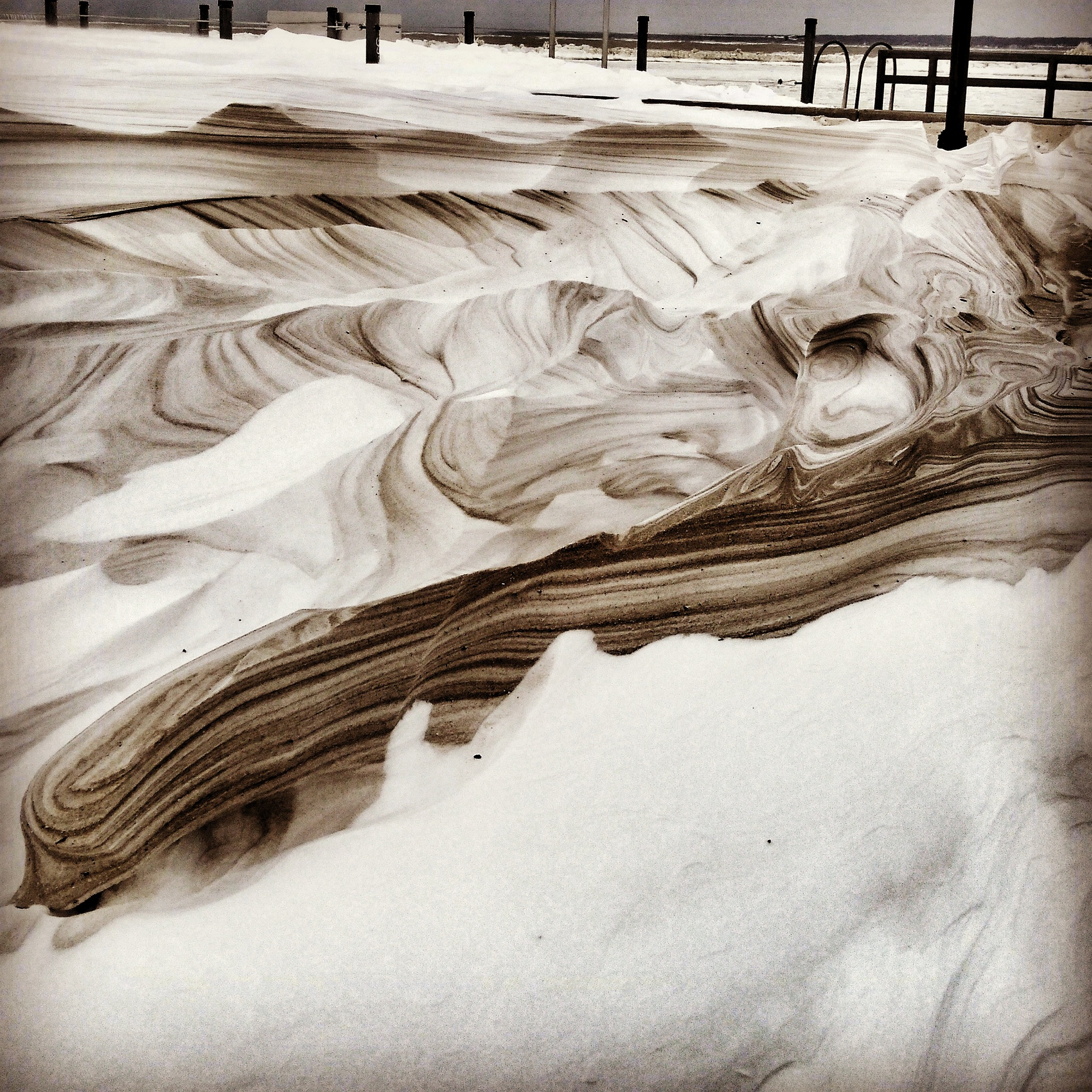 Sand & Snow by Michael Thaxton