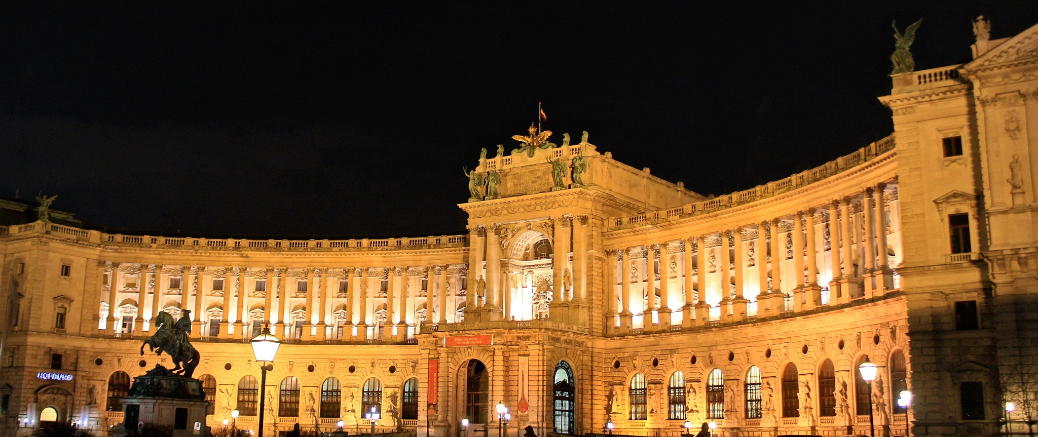Imperial Palace in Vienna by Timothy D. Wood