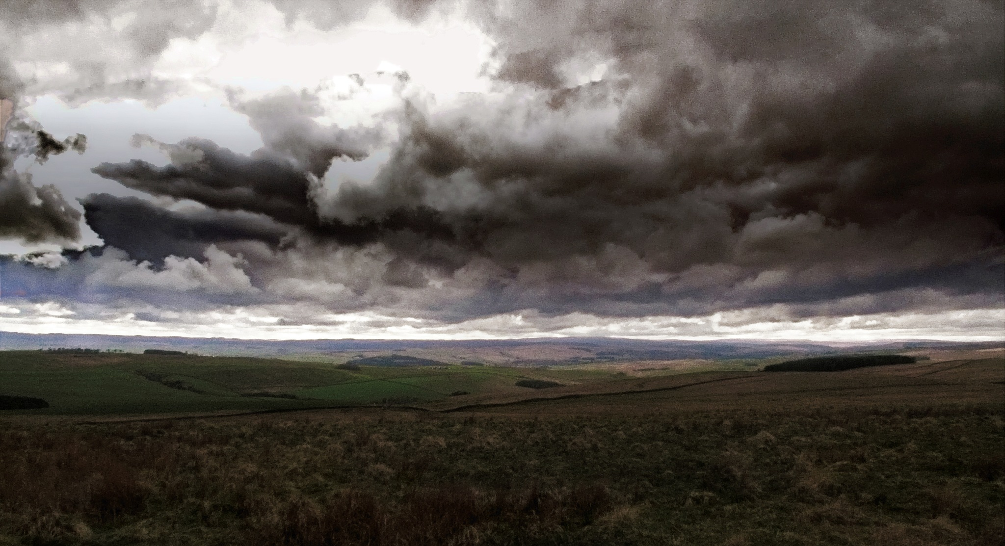 storm clouds  by Michael Brady