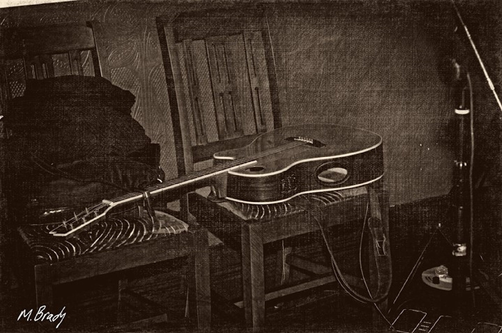 this old guitar  by Michael Brady
