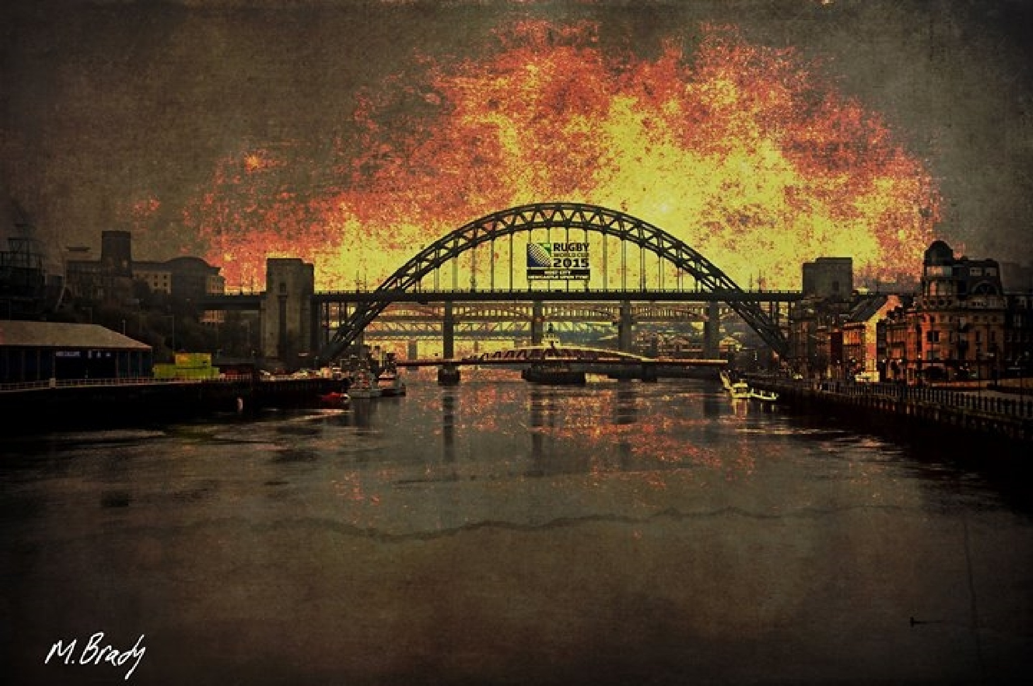 Bridges of Tyne by Michael Brady
