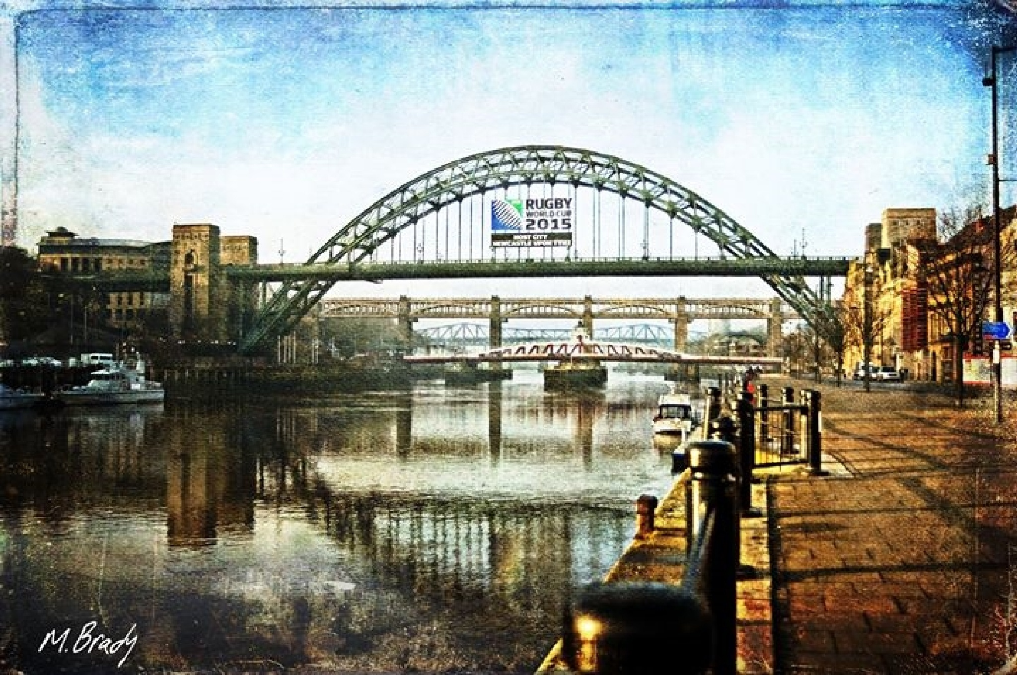 Quayside Dreams by Michael Brady