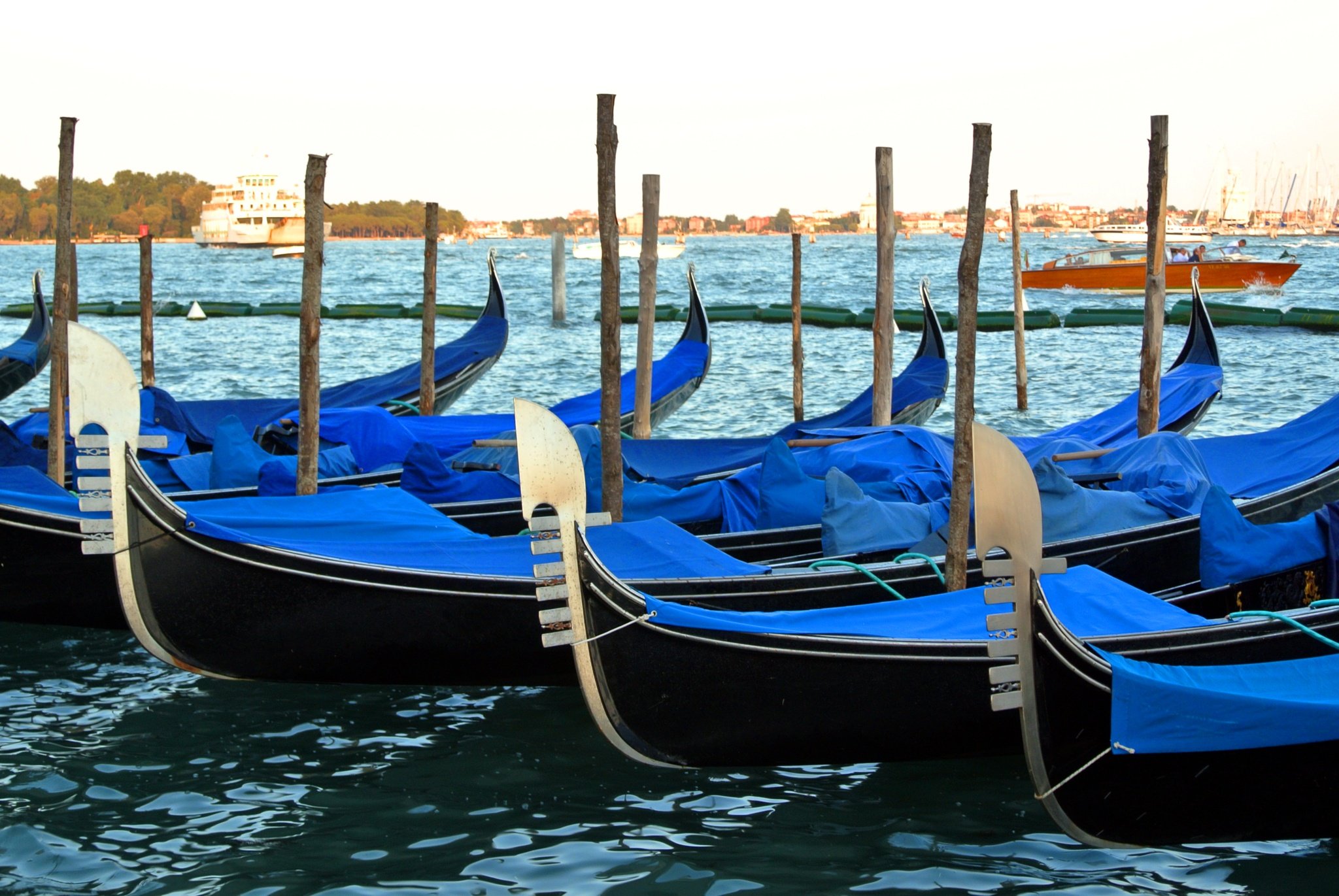 Blue Boat by Hr Lemon