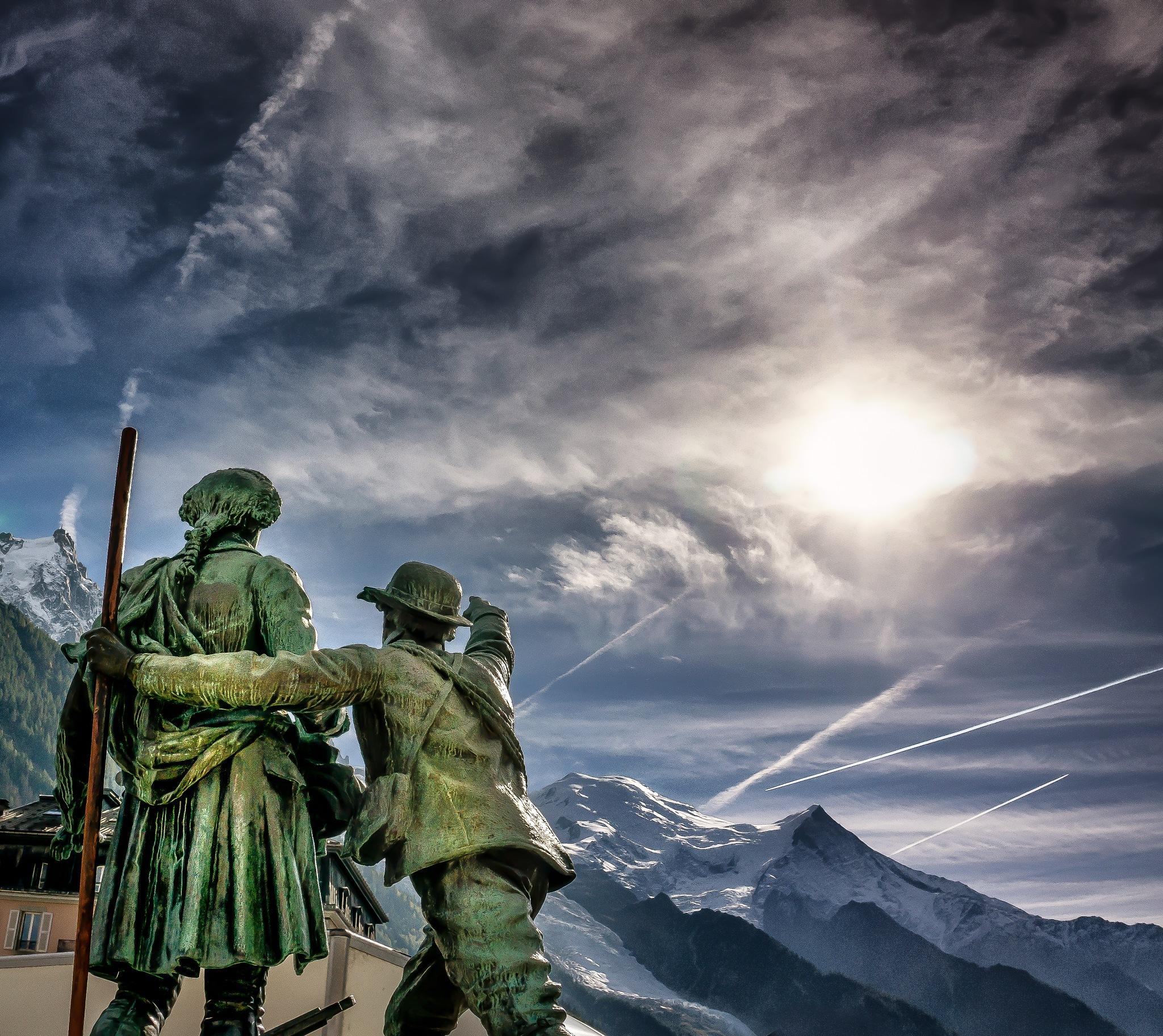 """""""Look up, sir!"""" by Peter van der Waard"""