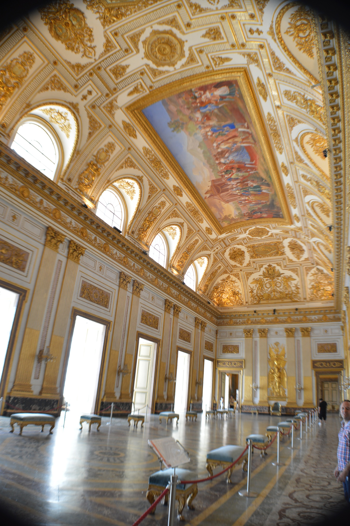 Royal palace of Caserta by Alessandro Deri