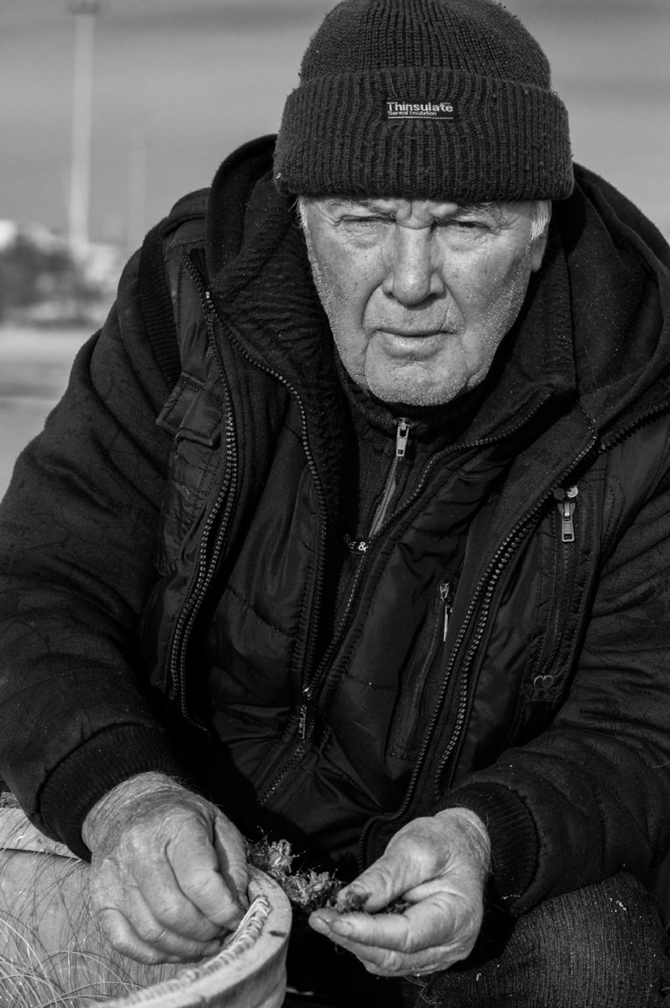 Fisherman by Chris Maltezos