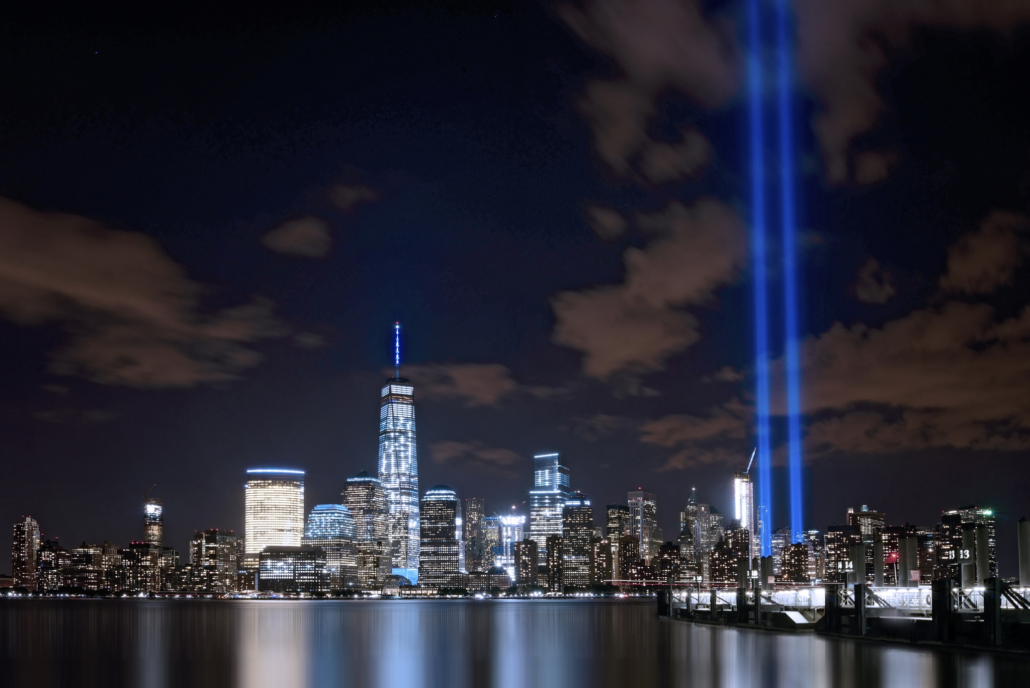 Tribute in light by 8th Rule Photography