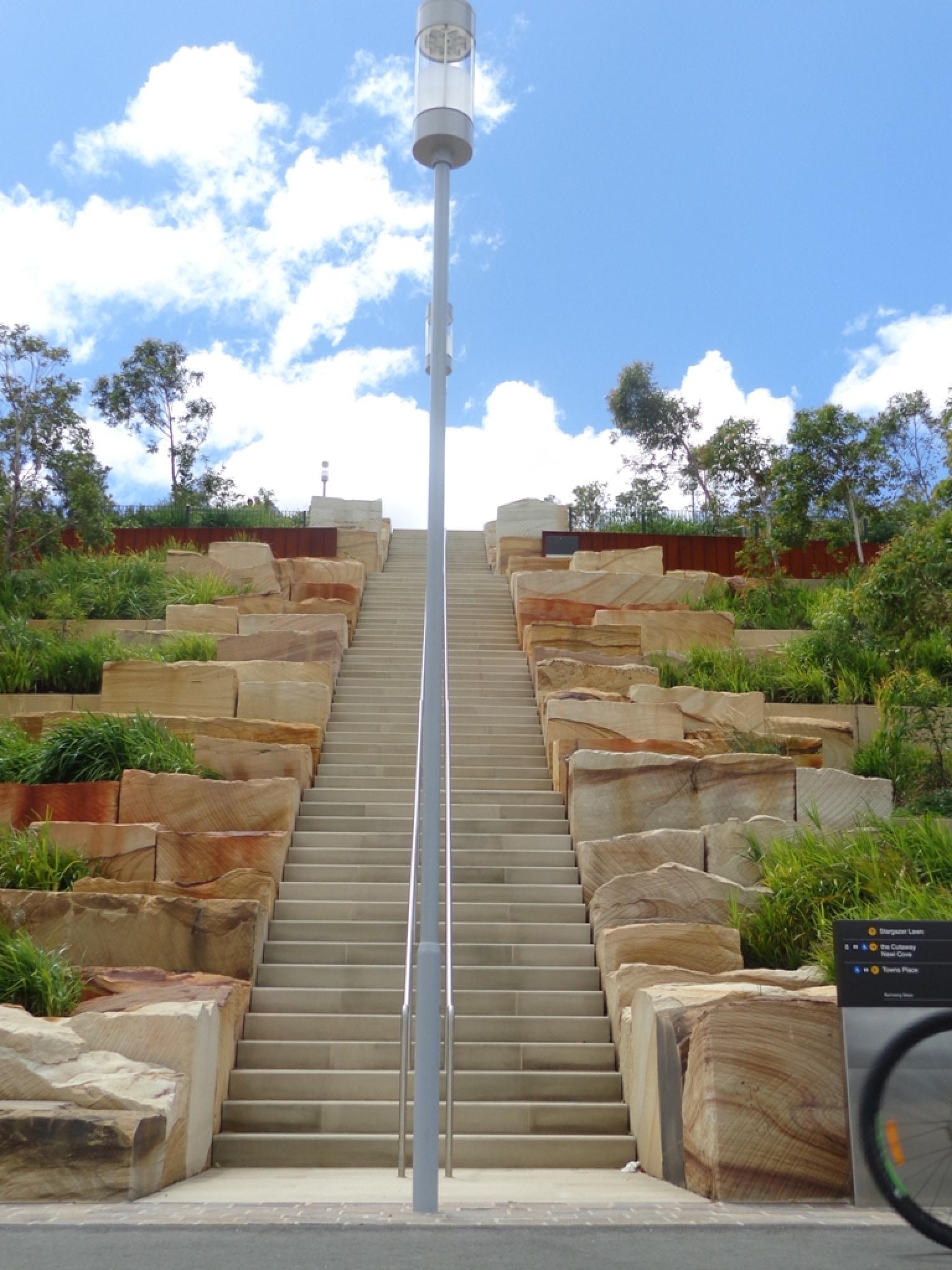 Barangaroo Steps by David Hatley