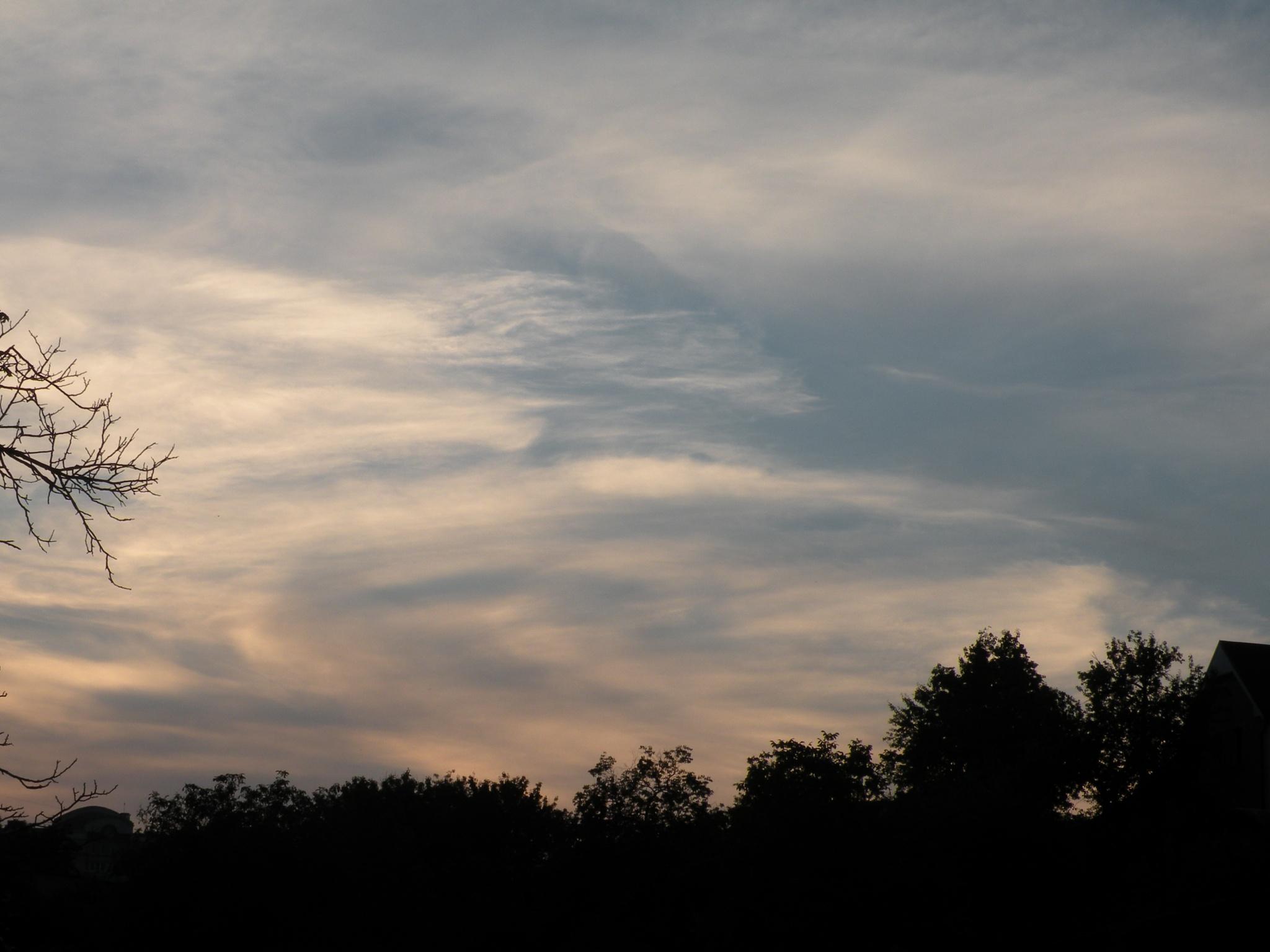 Cloud vortex by Alexandr  V. Seleznov