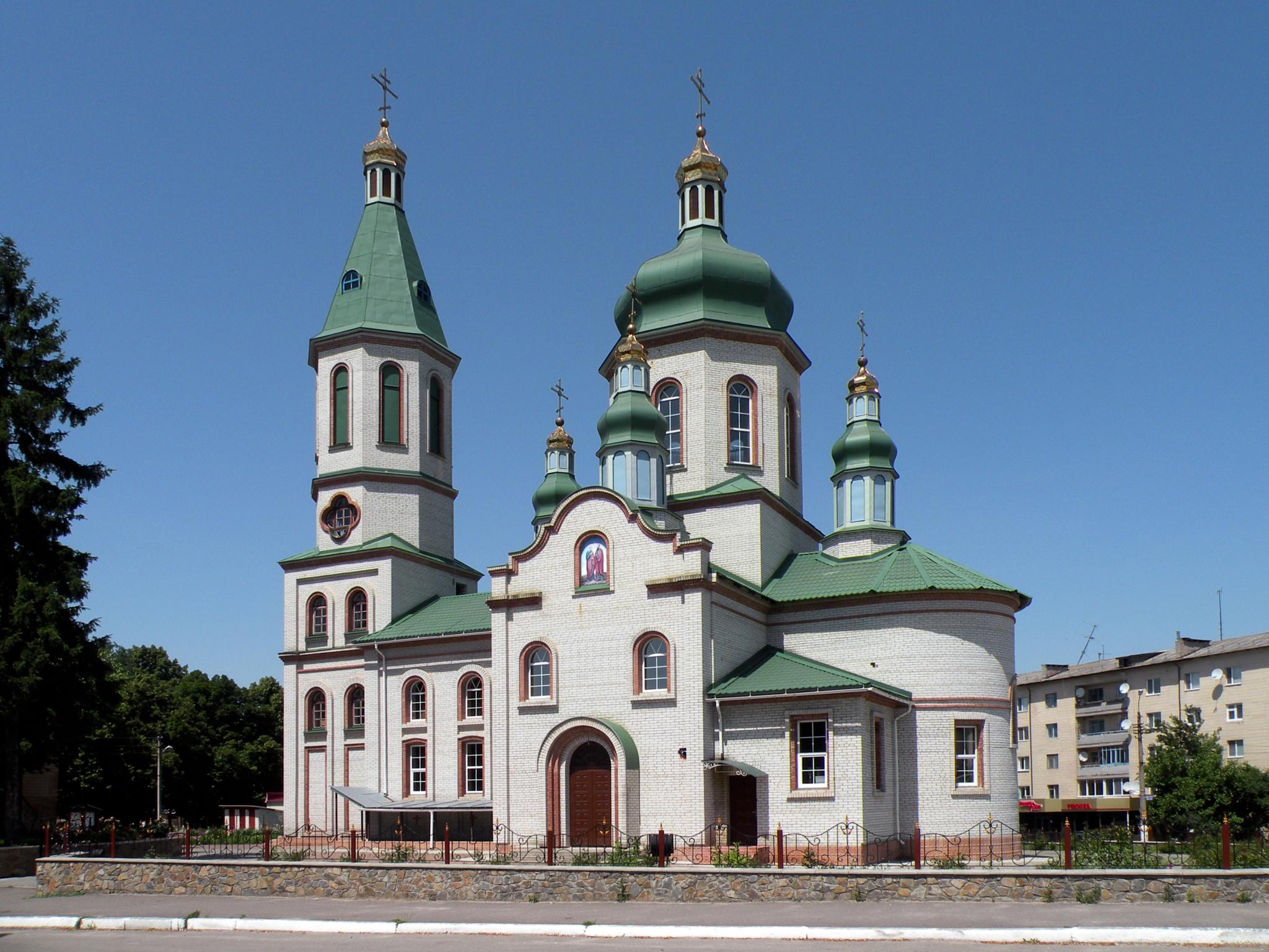 Orthodox Holy Assumption Church in Tetiev, Ukraine by Alexandr  V. Seleznov