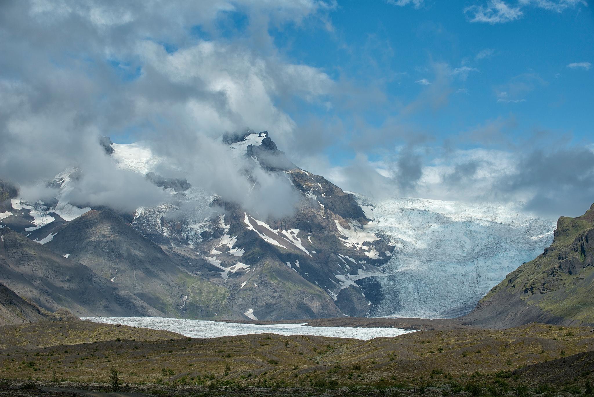 Glacier, Iceland. by desmcmahon5
