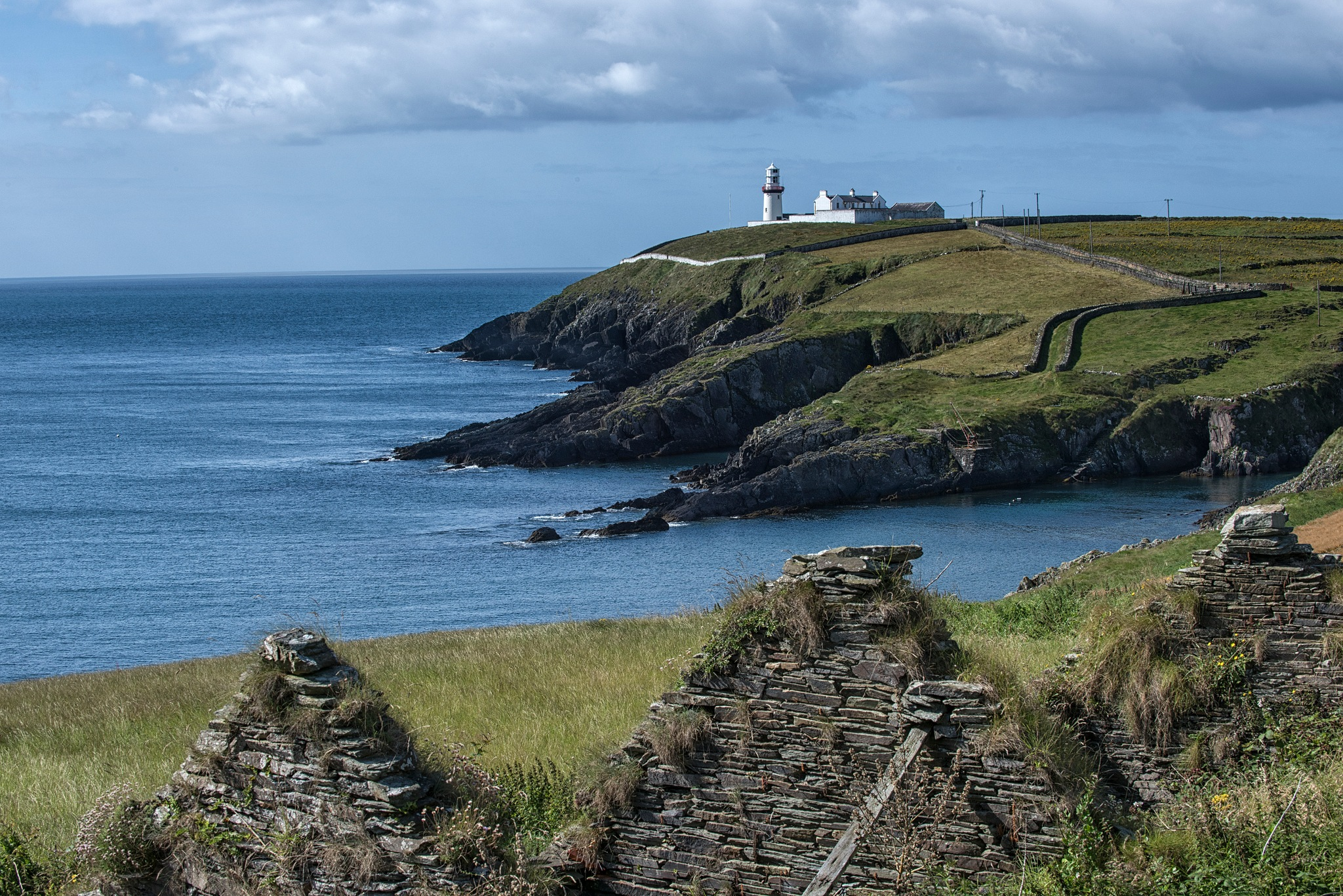 Galley Head Lighthouse, Co. Cork, Ireland. by desmcmahon5
