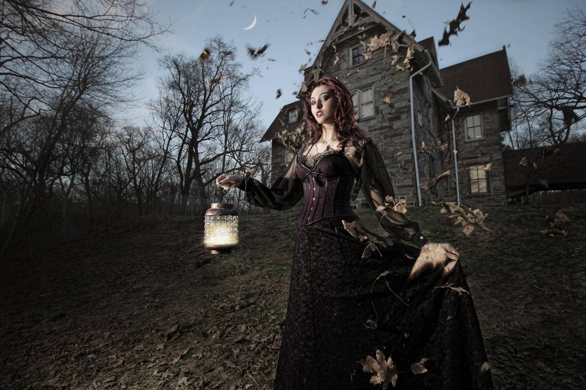 Caroline in Wonderland by Ultravphotography