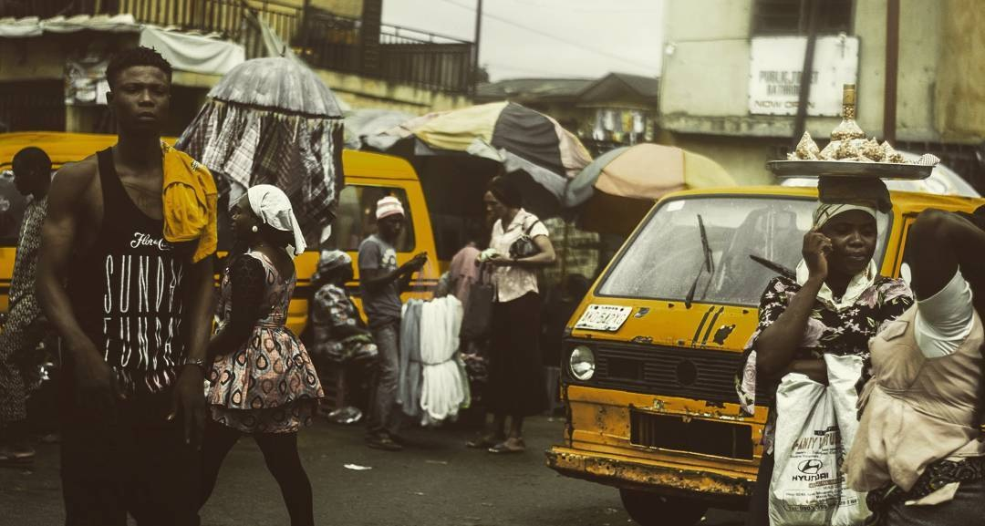Lagos streets by Martin Knight