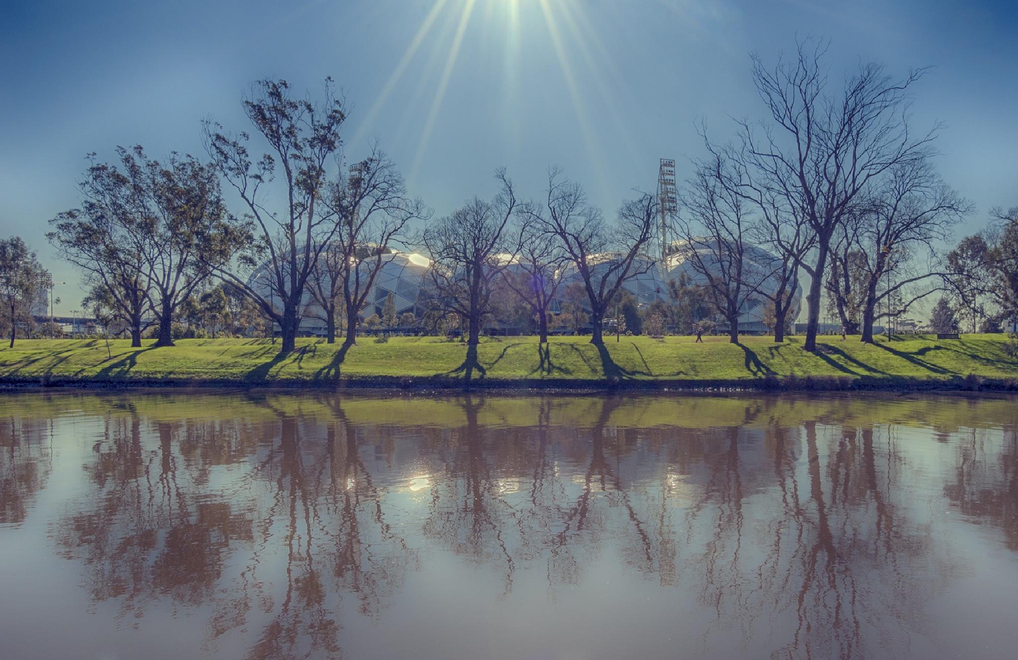 River by Dogan Kokdemir