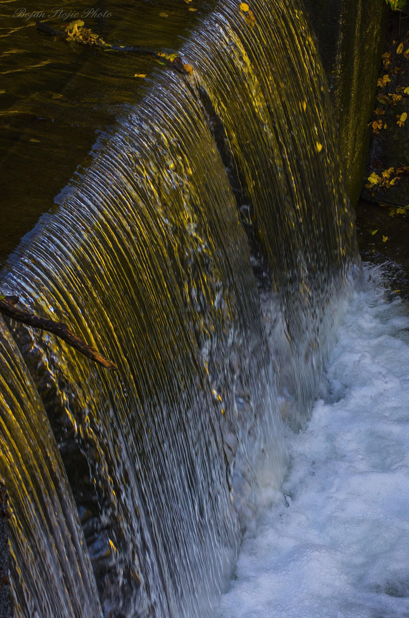Golden waterfall  by BokiS