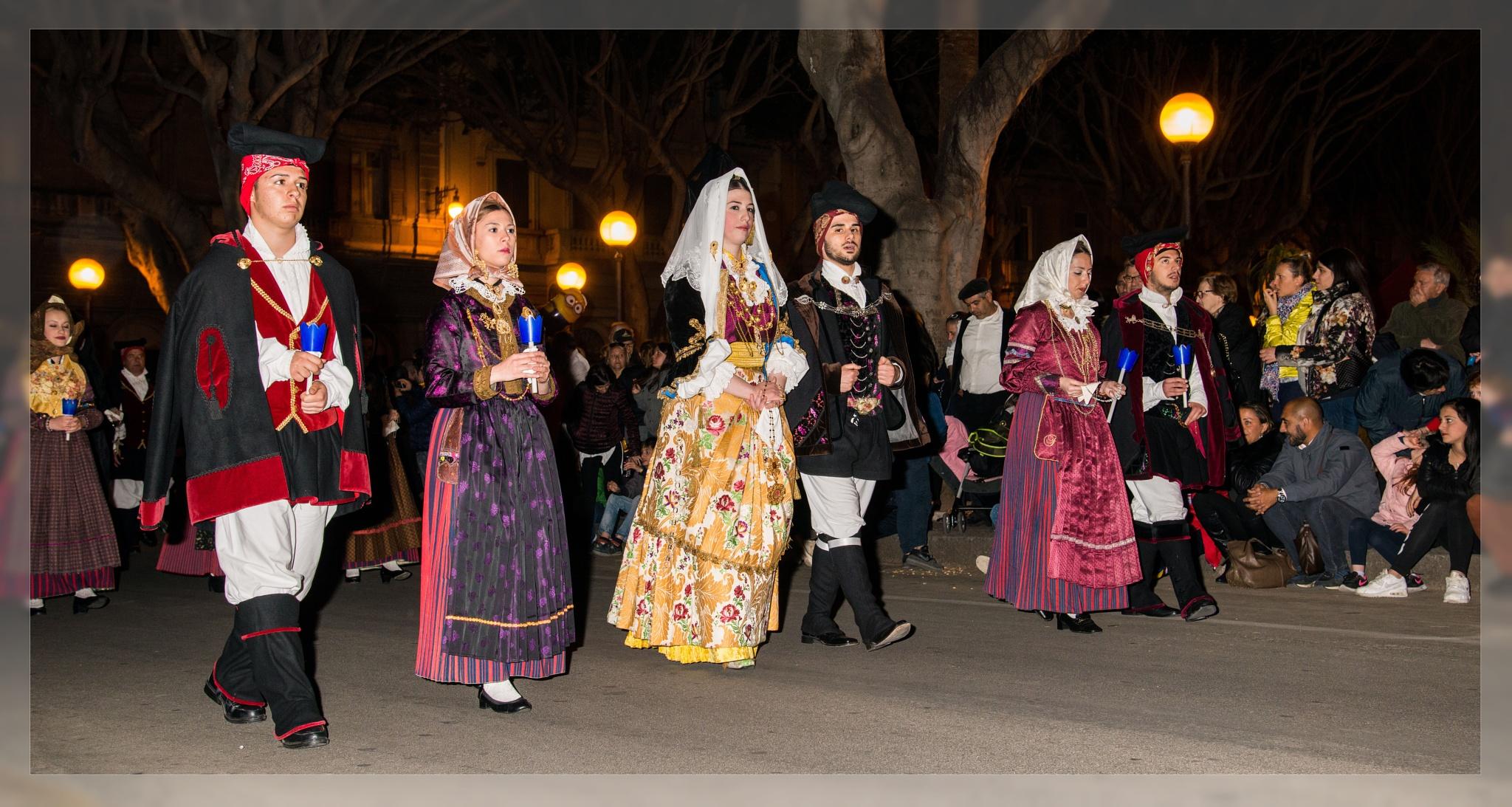 Costumi Sardi (Settimo San Pietro) by corvonero