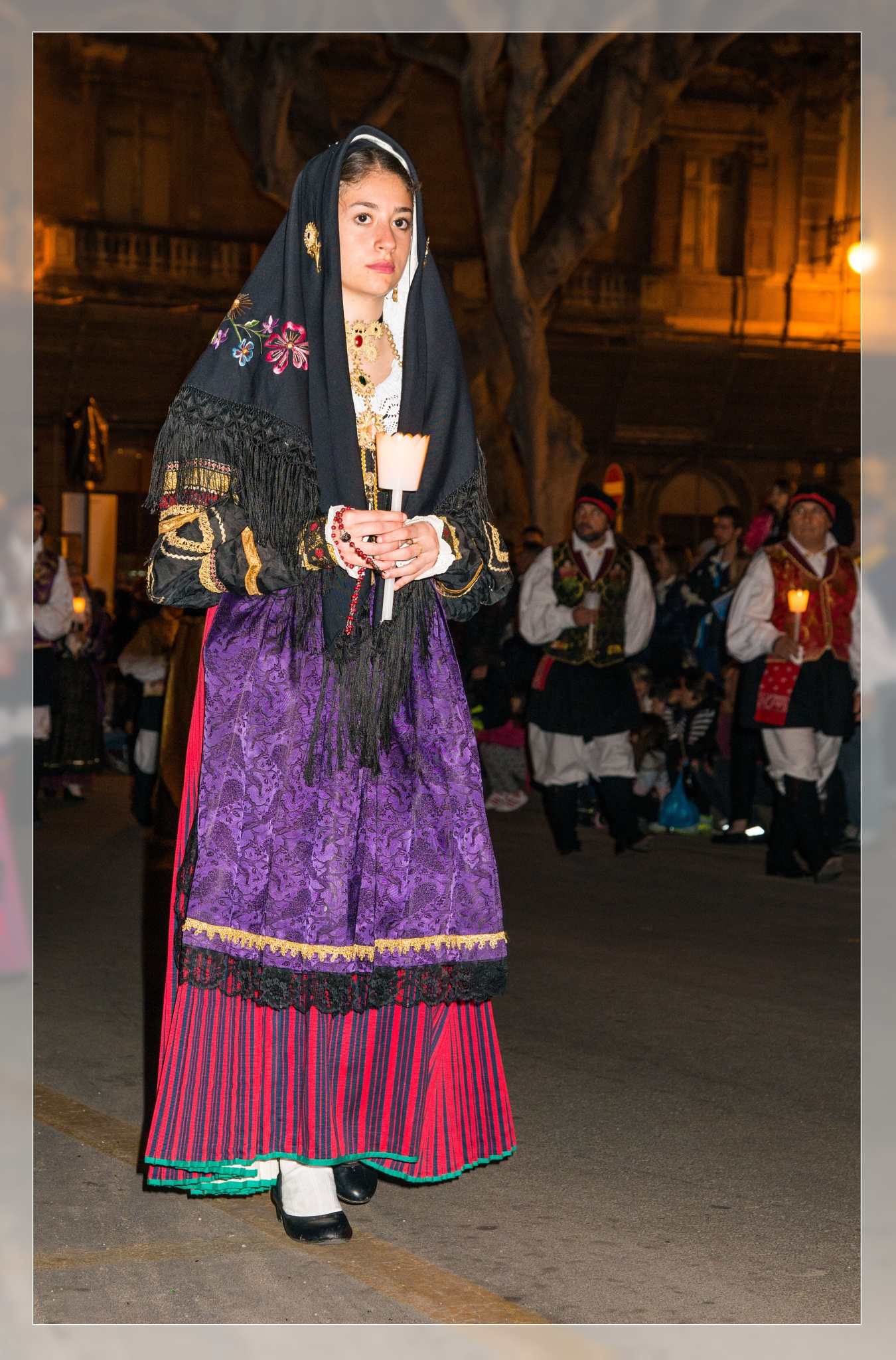 Costume Sardo (Cagliari) by corvonero