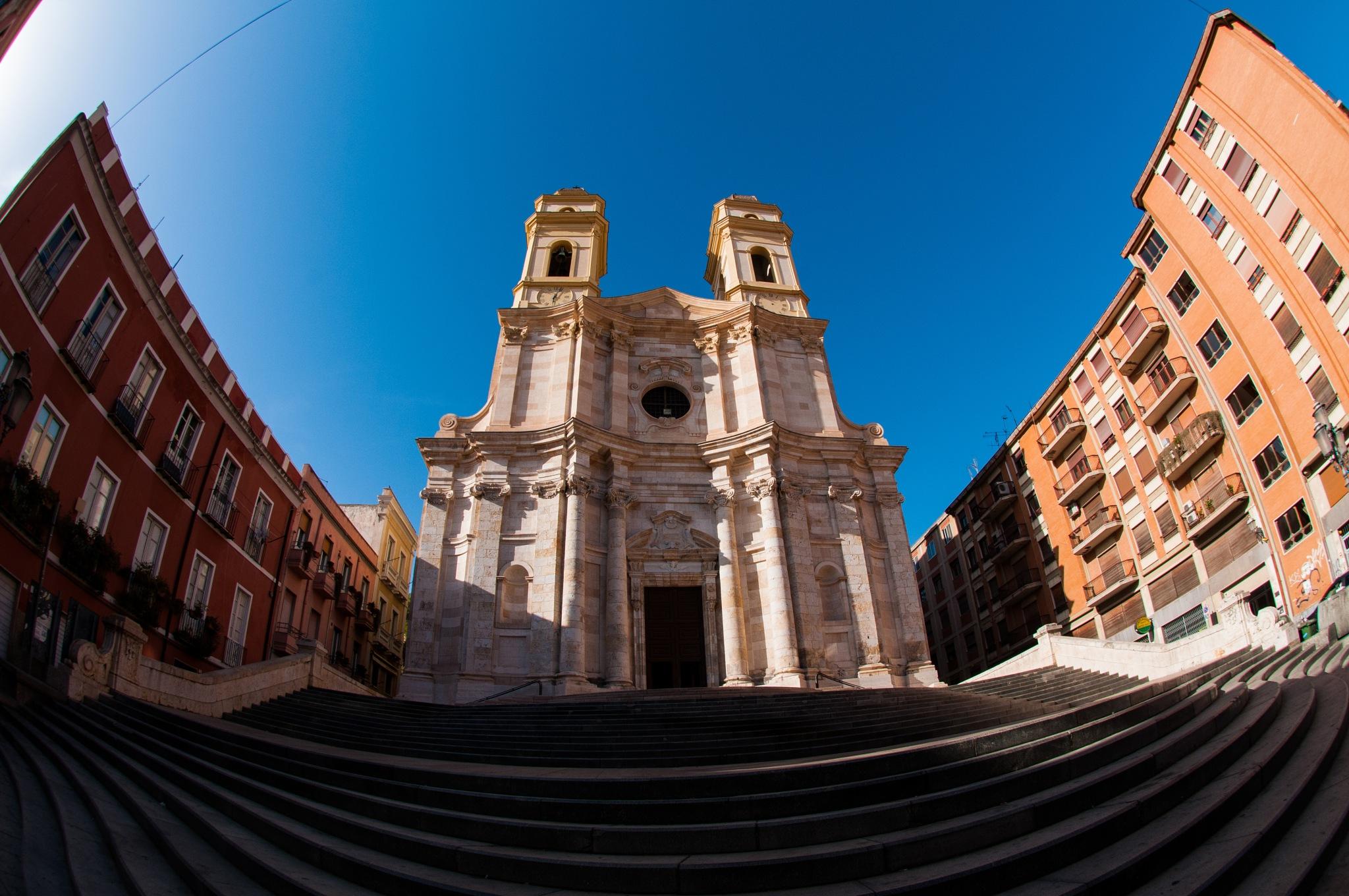 Chiesa di Sant'Anna (Cagliari) by corvonero