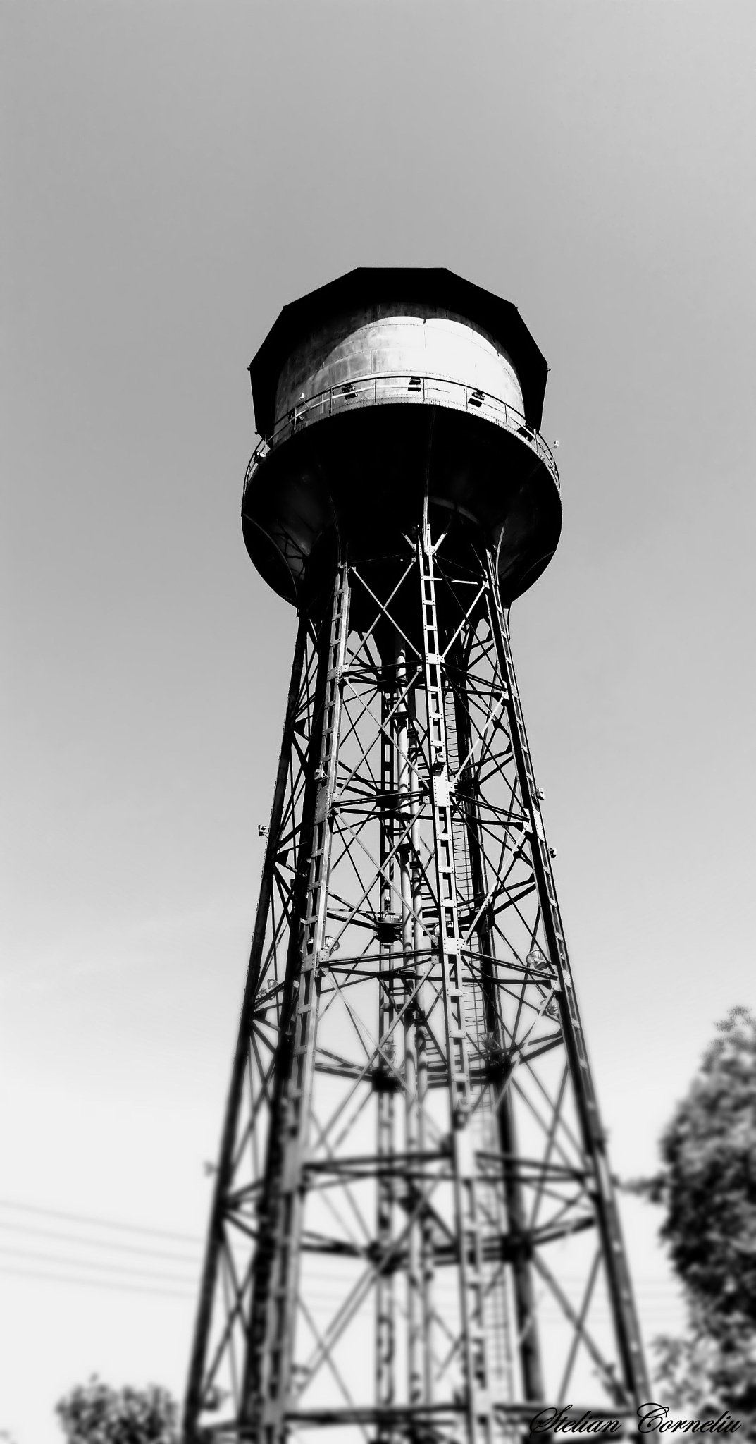 Water Tower Limassol by Stelian Corneliu