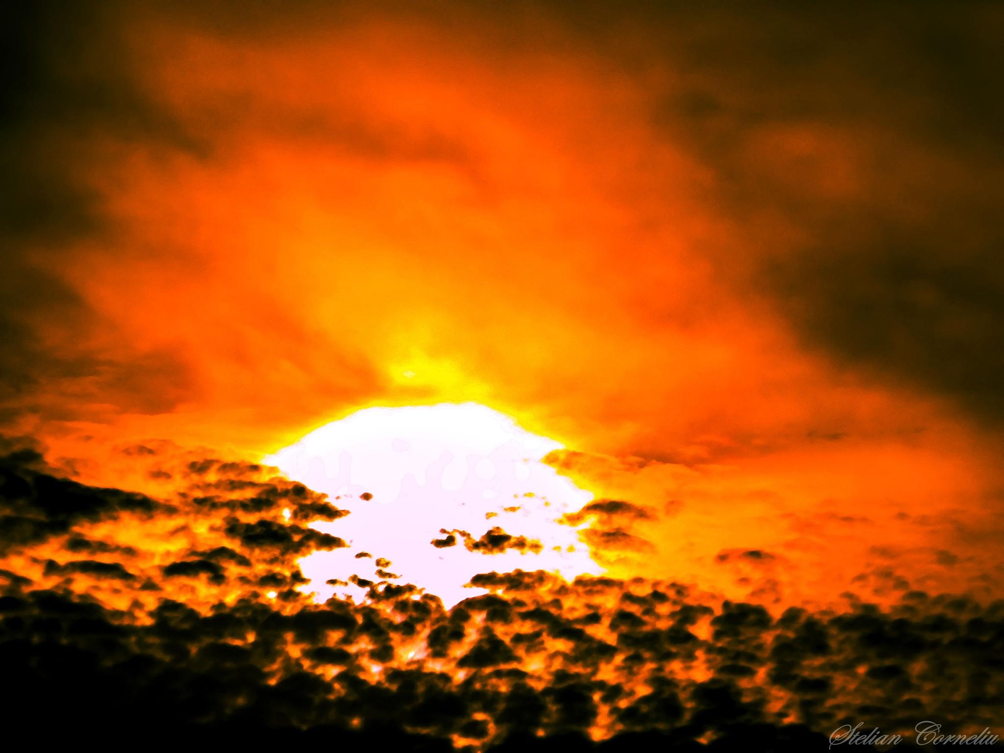 Sunset  by Stelian Corneliu