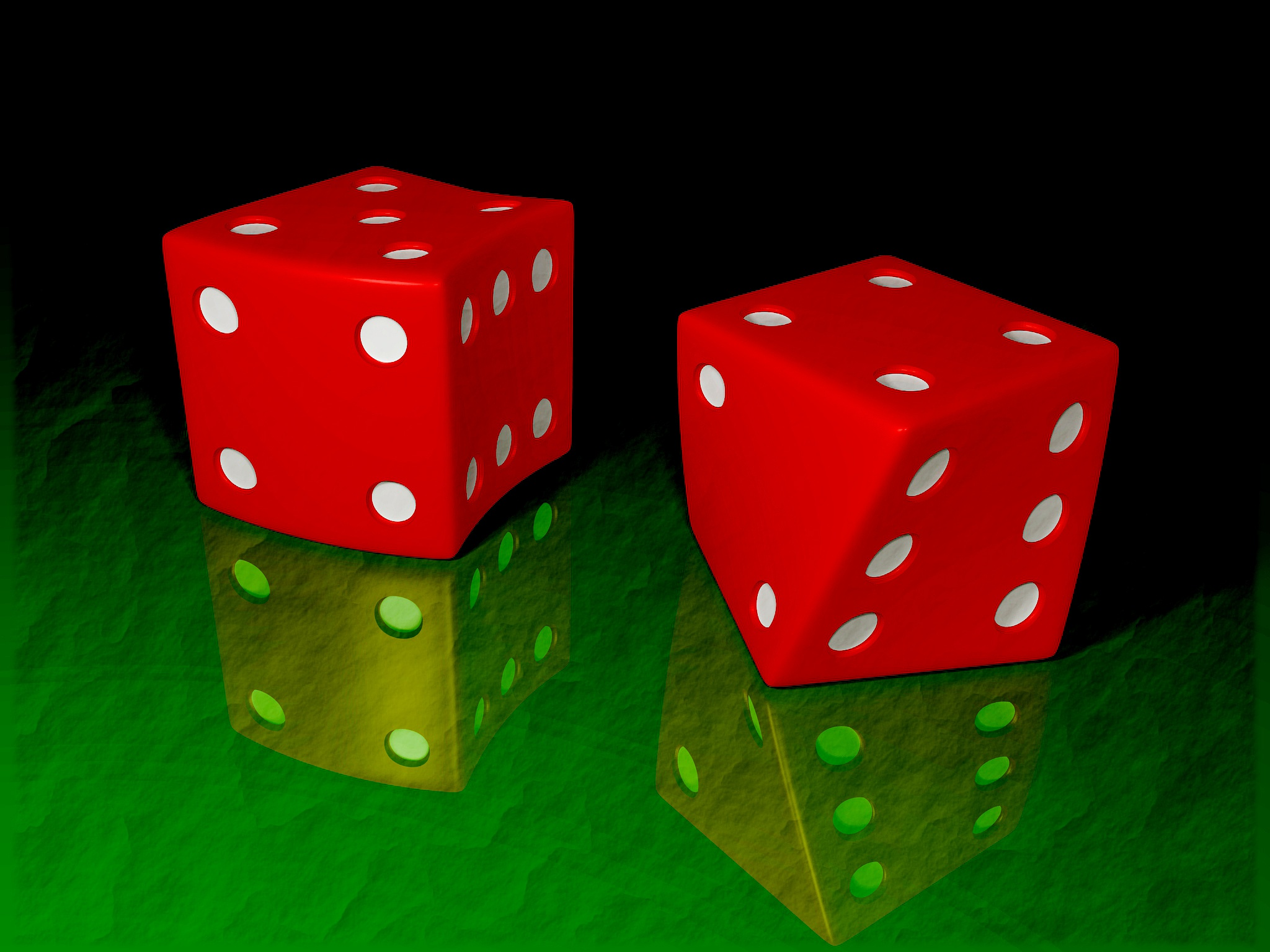 Just a through of the dice by Joe-Maccer