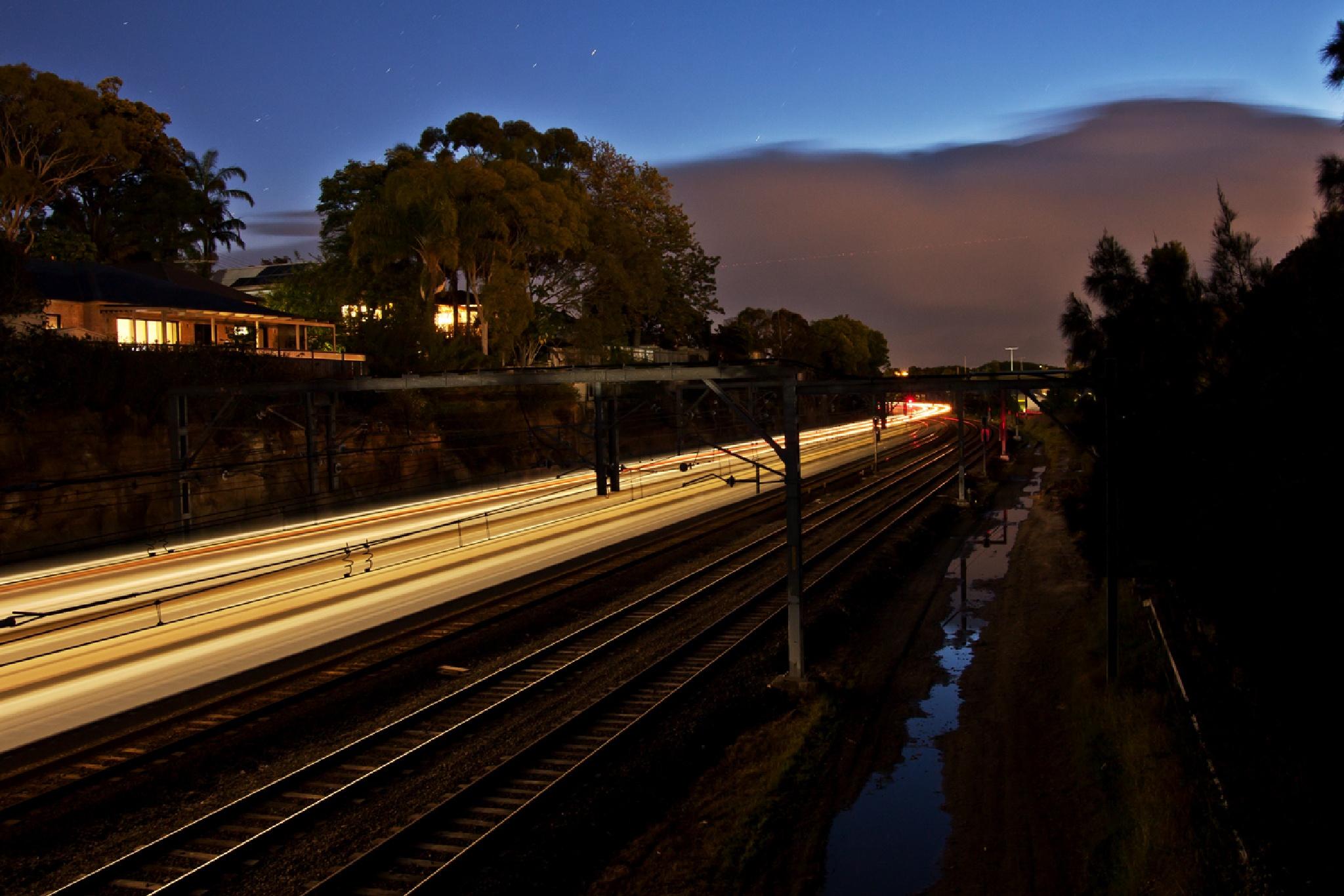 Glow Train by Doc Jones