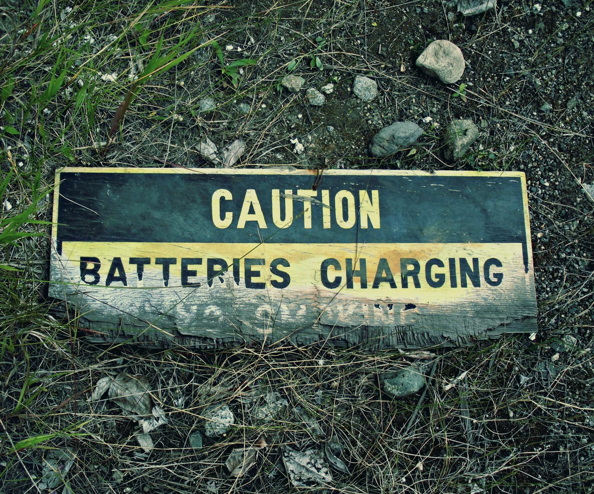 Charging by Scott Leroy