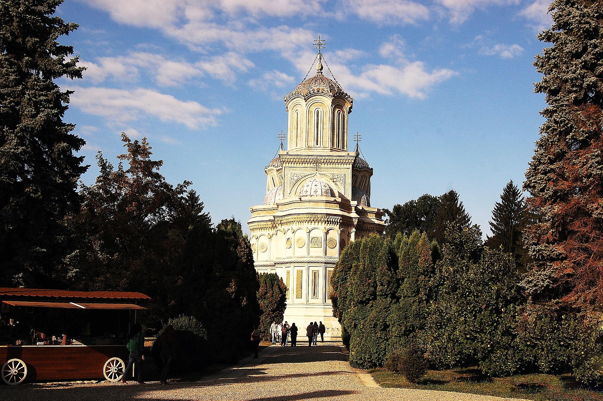 Church- Curtea de Arges by Mircea Simion
