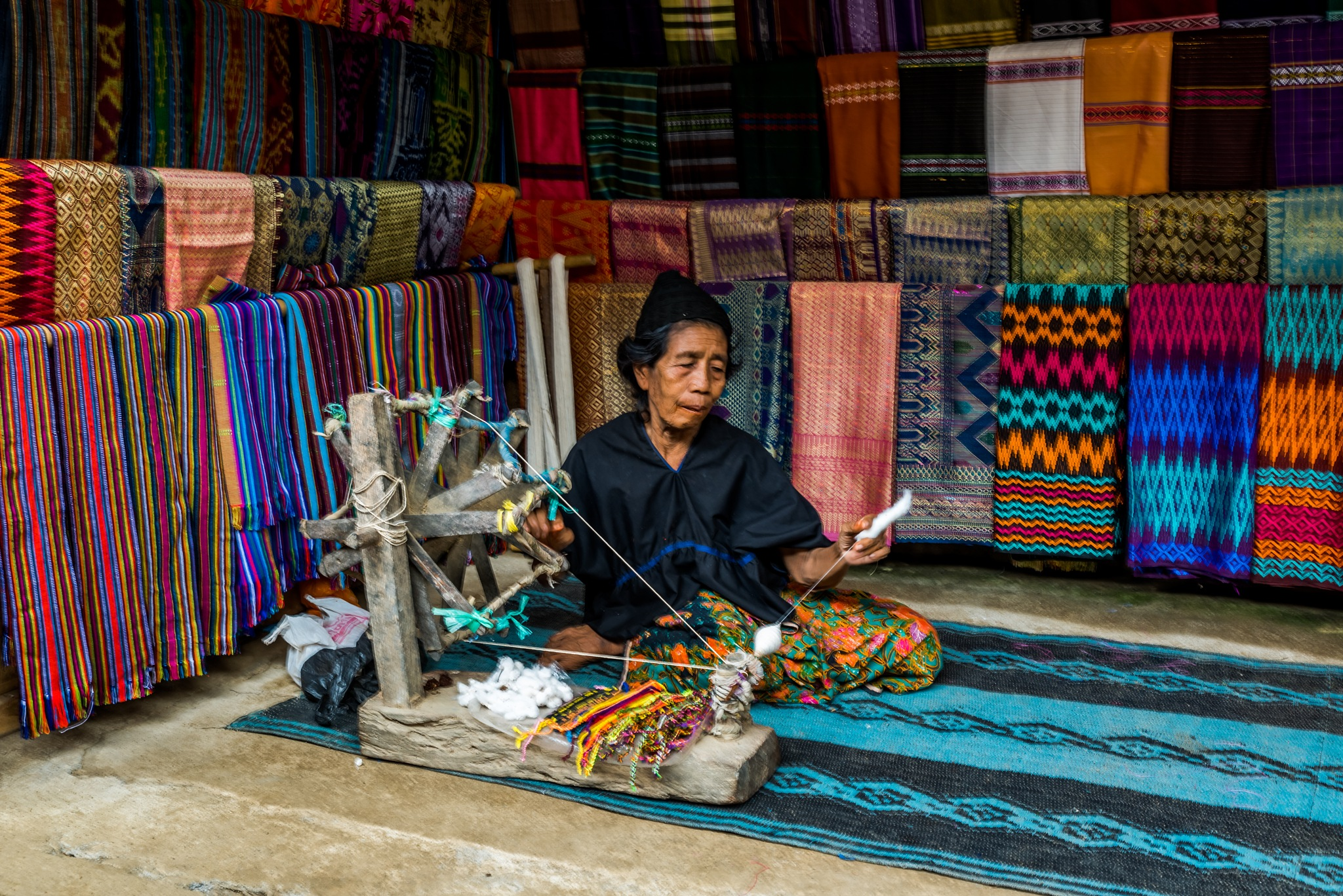 The Most Primitive Loom by Jeffry Liew Ted Khiong