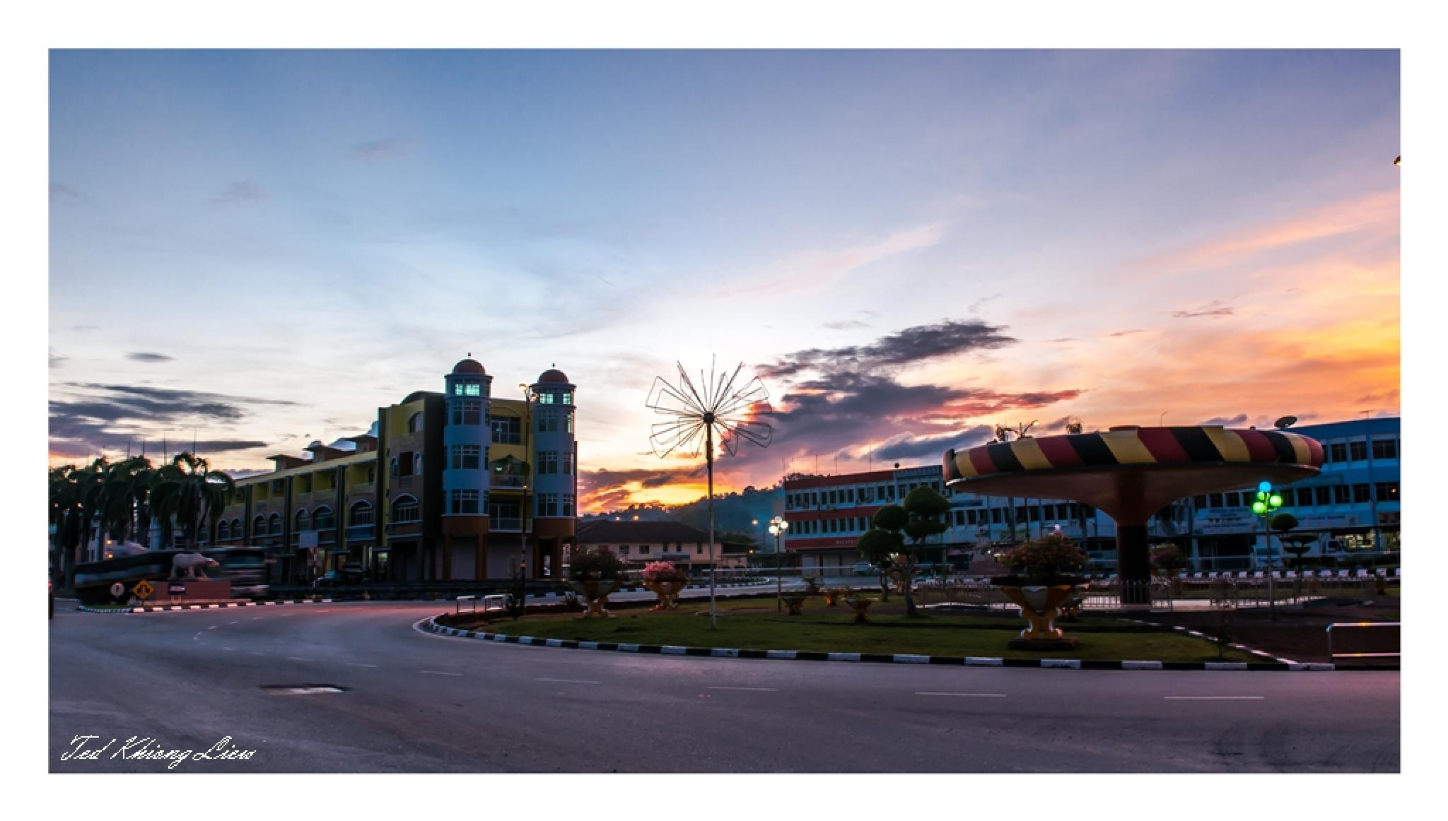 Lawas Town  by Jeffry Liew Ted Khiong