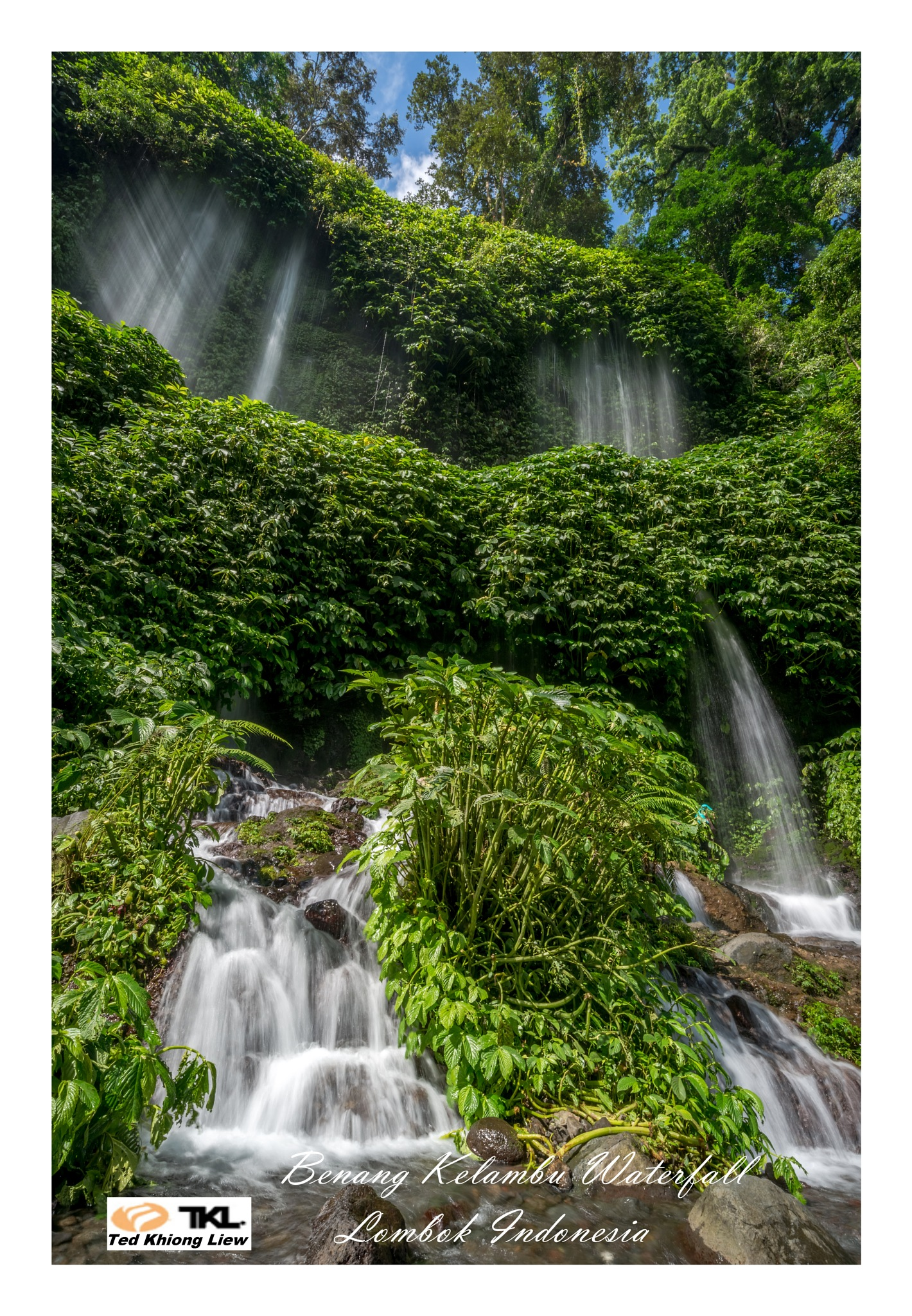 Bengang Kelambu Waterfall by Jeffry Liew Ted Khiong