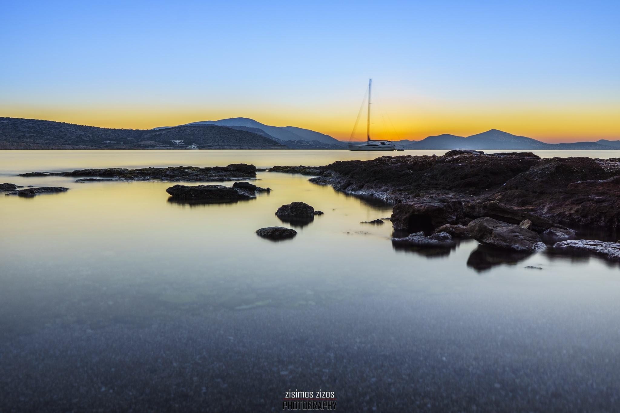 Before the sunrise!! by Zisimos Zizos