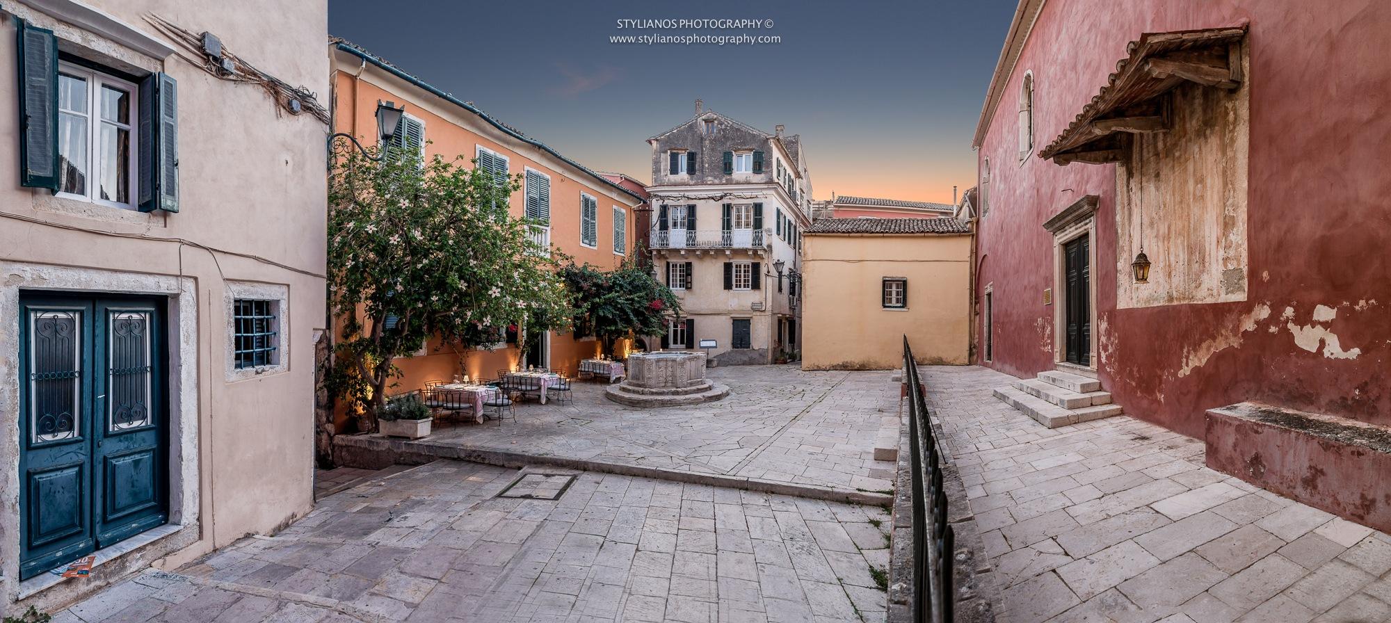Kremasti - Corfu Old Town by Stylianos lavranos