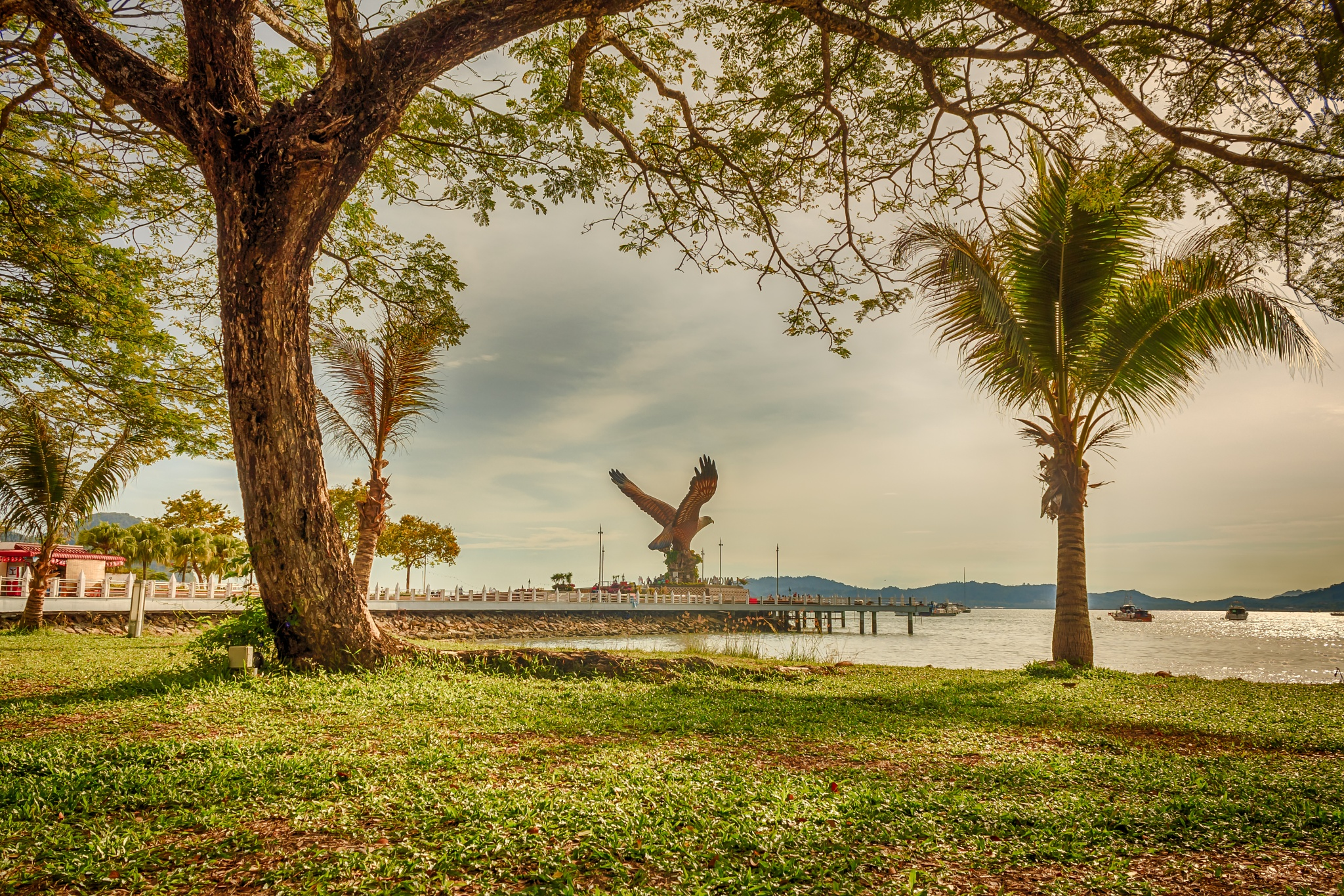 Eagle Square, Langkawi by Mohammed Shamaa
