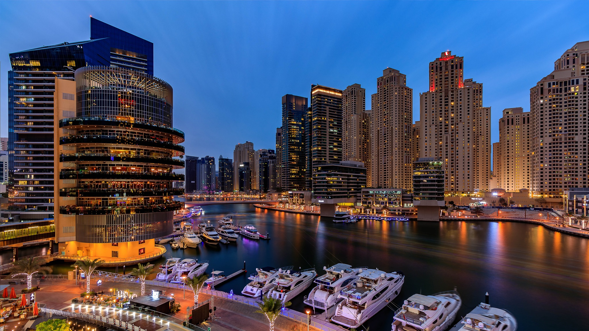 Blue Hour Glory by Mohammed Shamaa