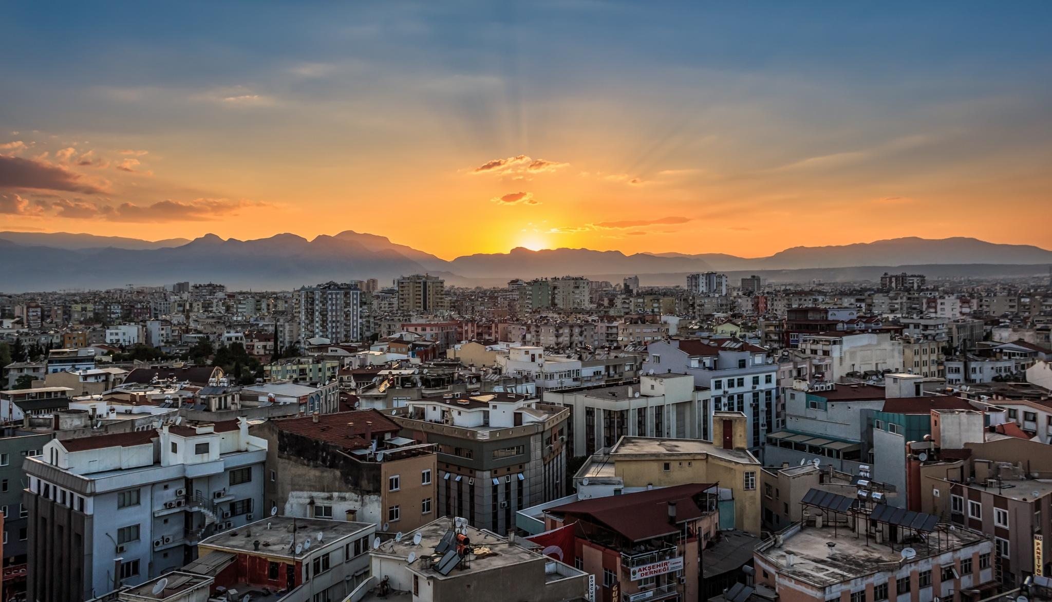Sunset in Antalya by Mohammed Shamaa
