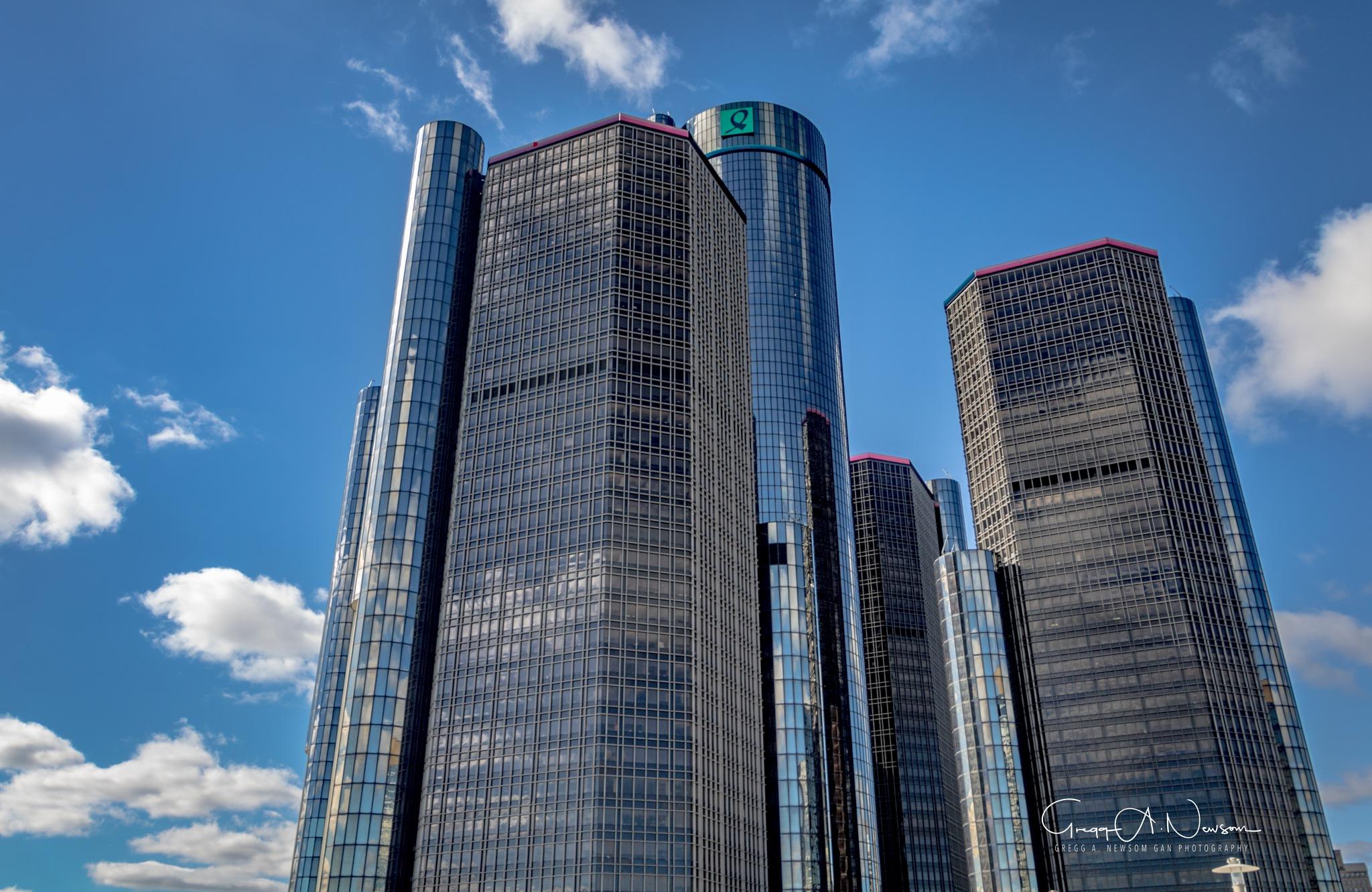 GM World Headquarters  by Gnewsom324