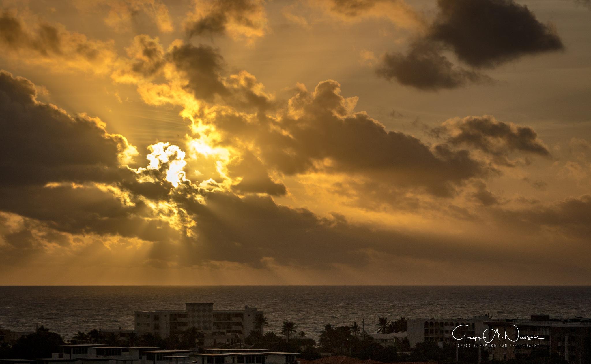 Last sunrise today by Gnewsom324