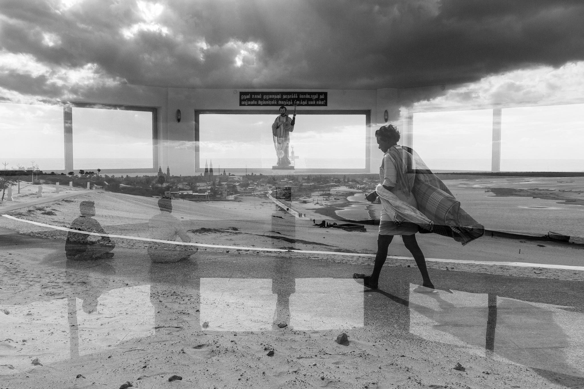 Double Exposure by Sarathi Thamodaran