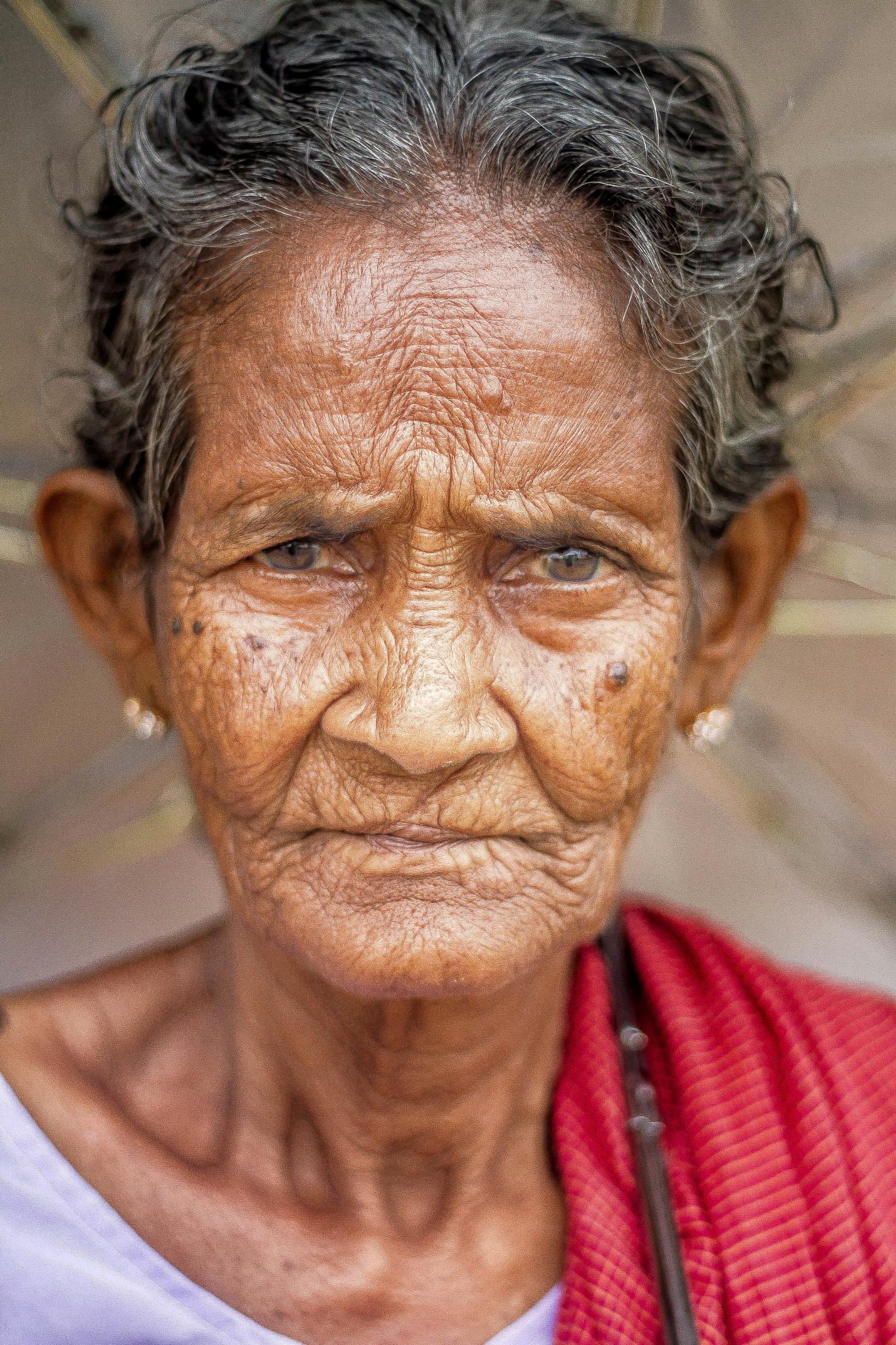 Old Lady.. by Sarathi Thamodaran