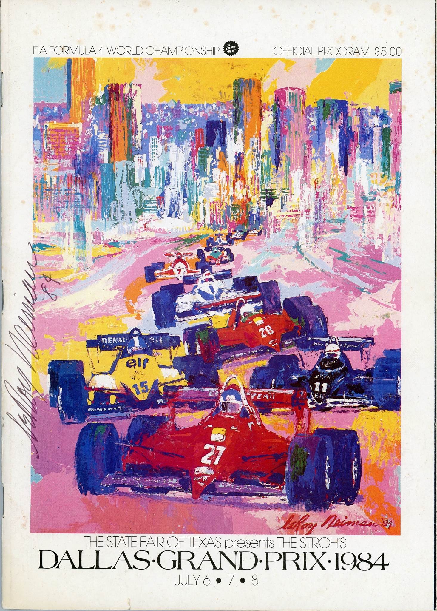 Dallas Formula One race by BillBarnes