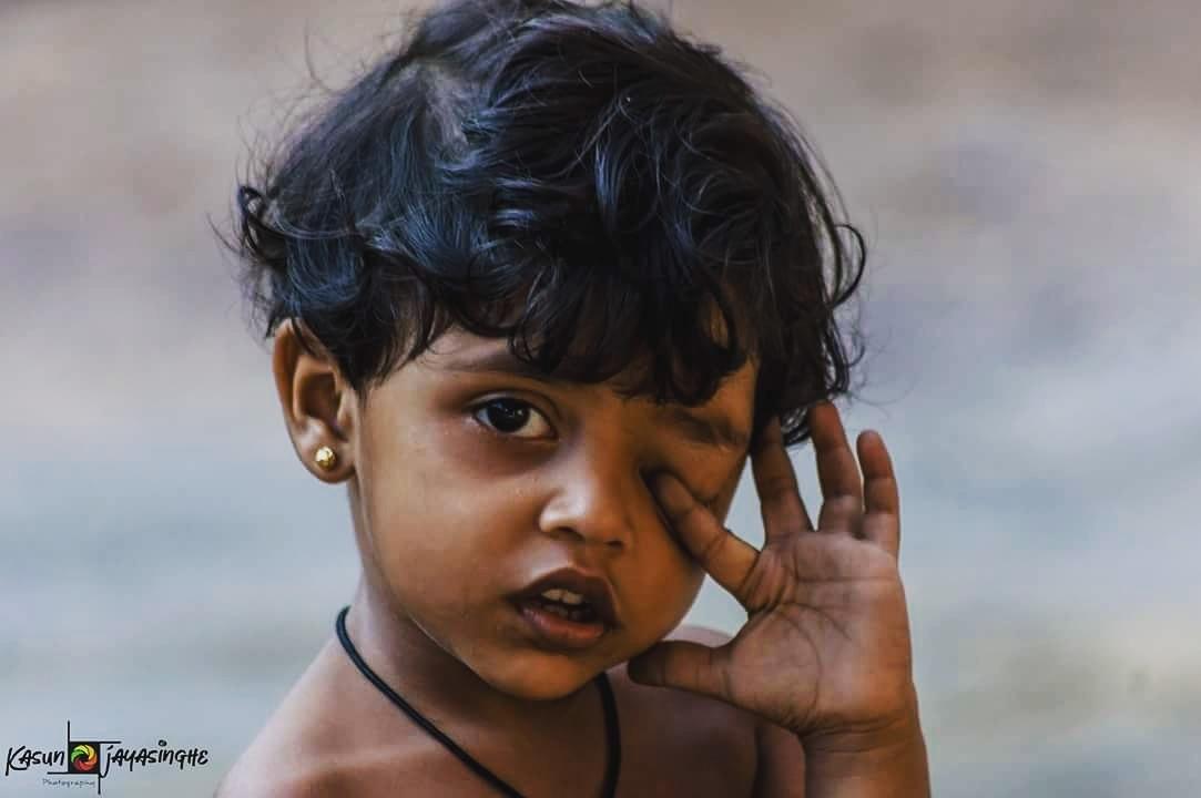 little angel  by Kasun Chathuranga Jayasinghe