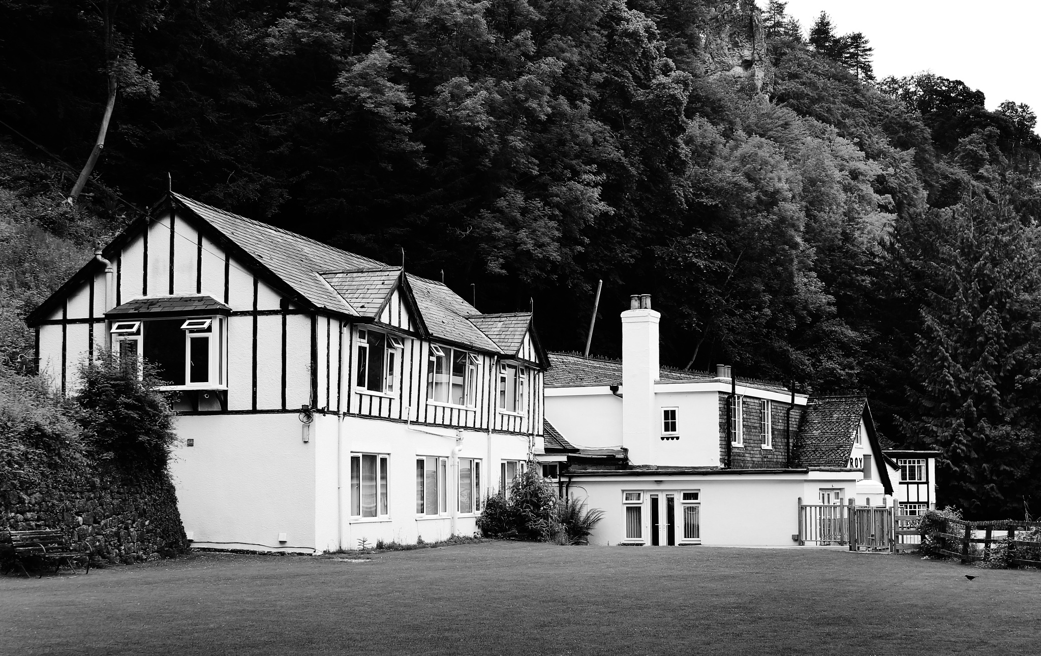 White House in the Forest of Dean... by Corban Wishart